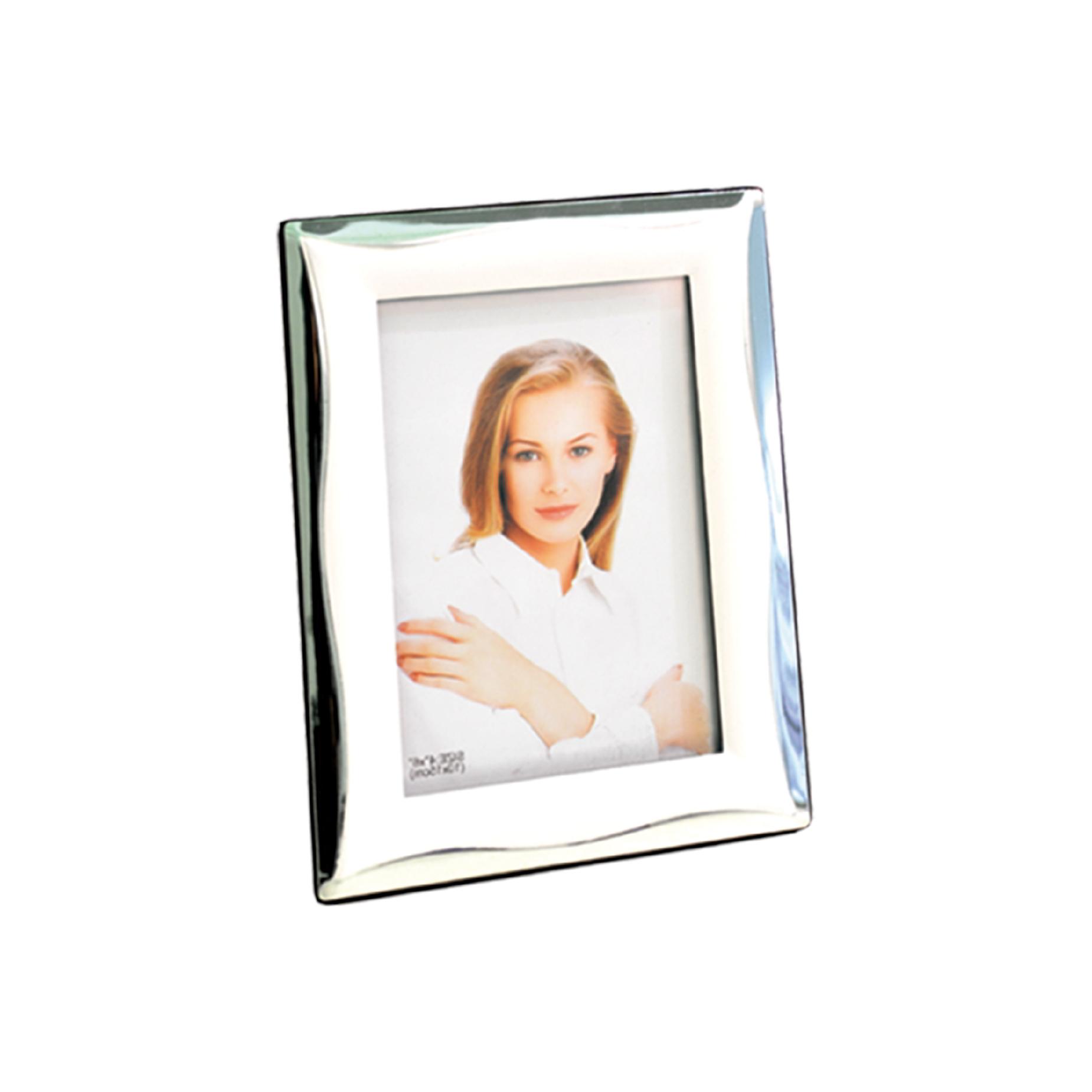 Porta retrato Branco e Prata