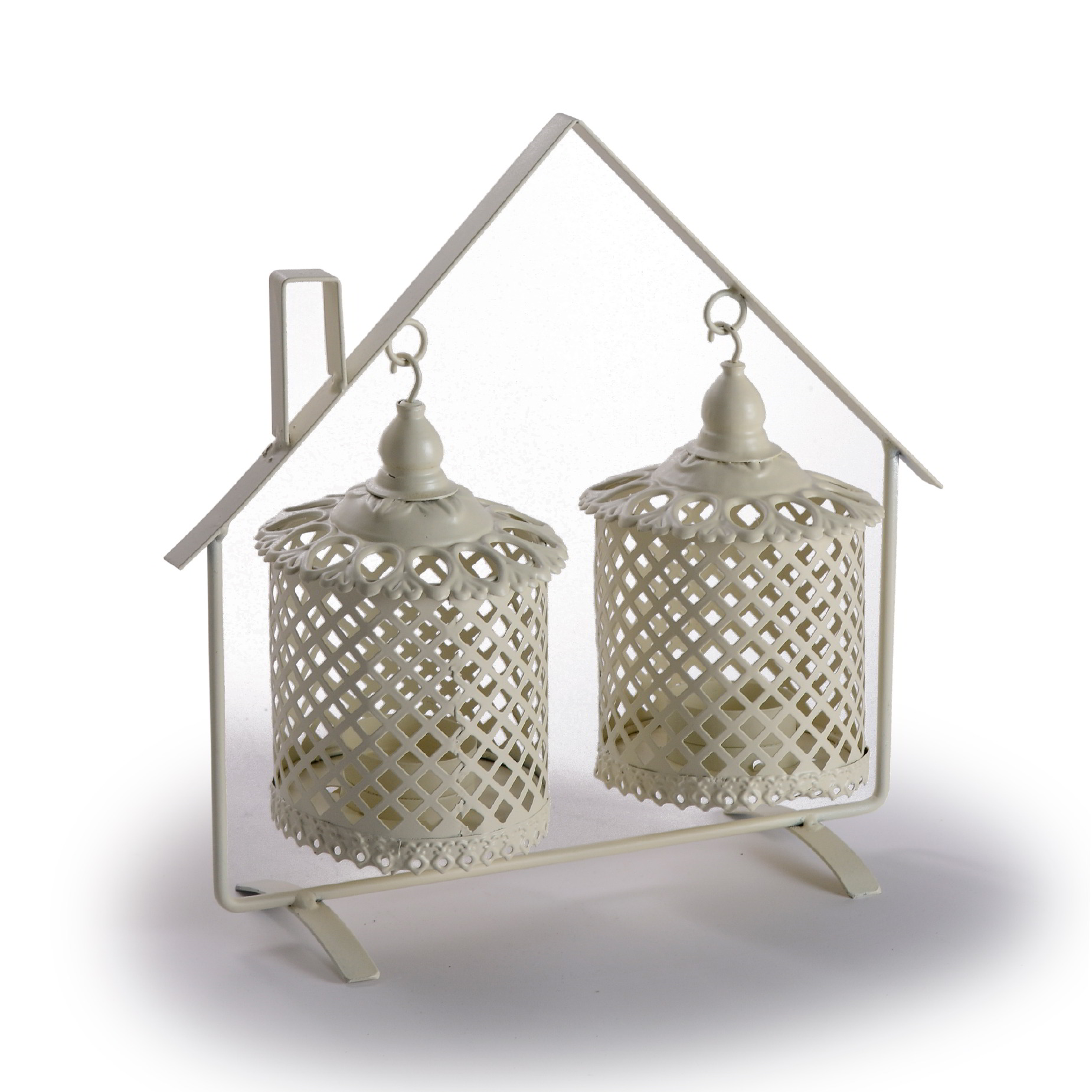 Lanterna dupla decorativa