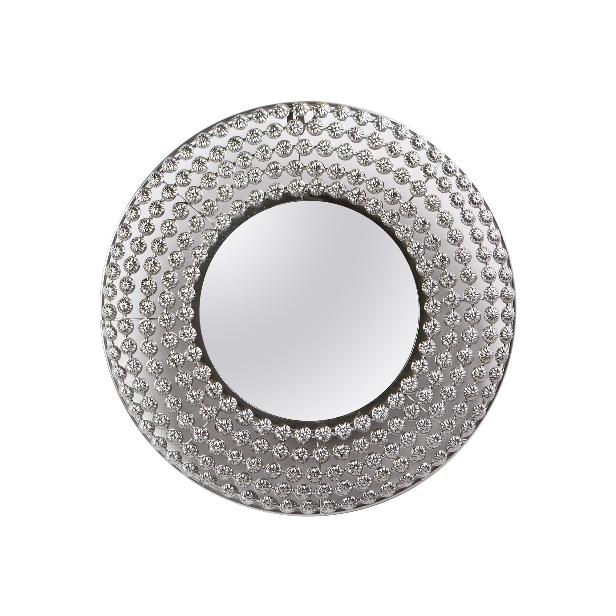Espelho de Metal Prata
