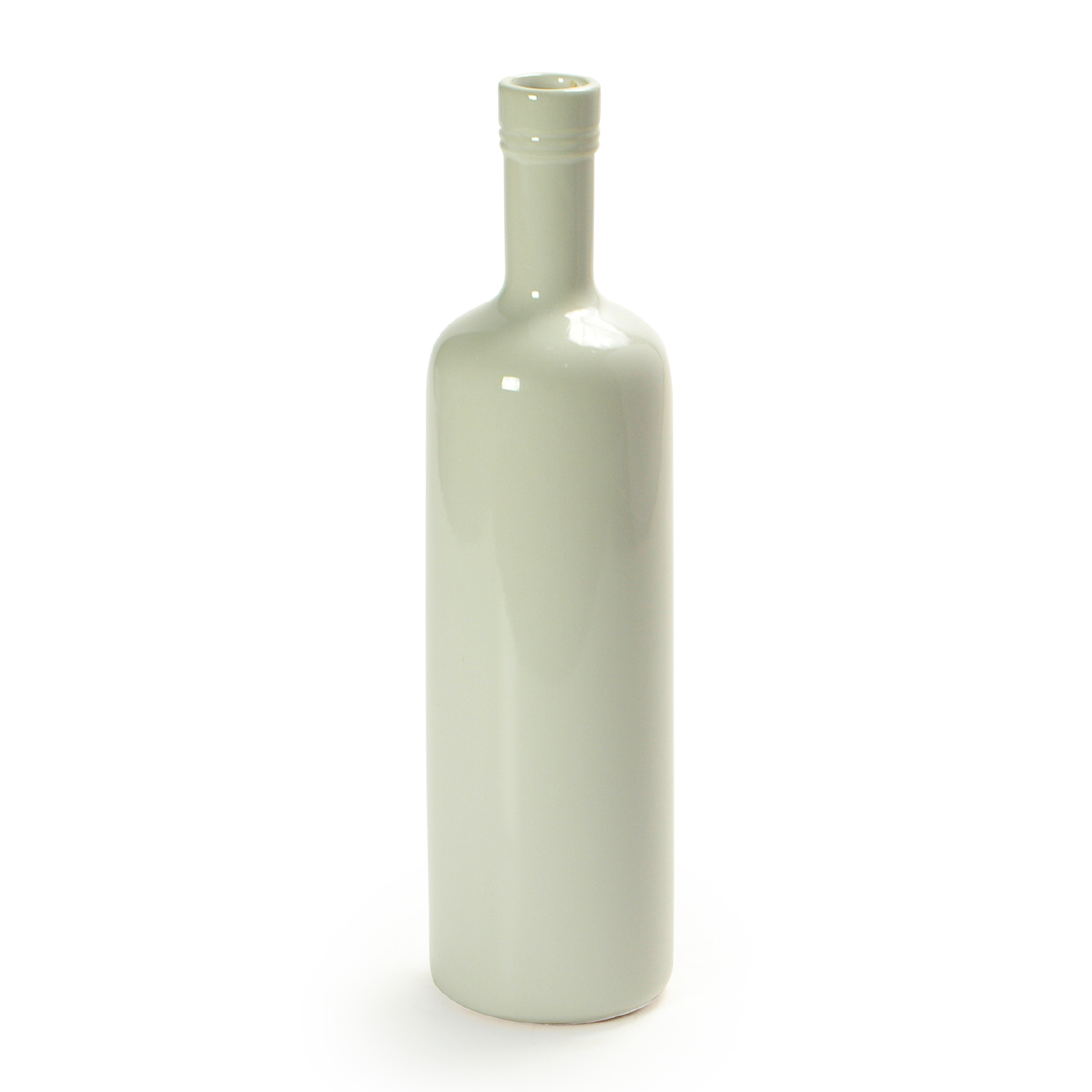 Garrafa de cerâmica Branca