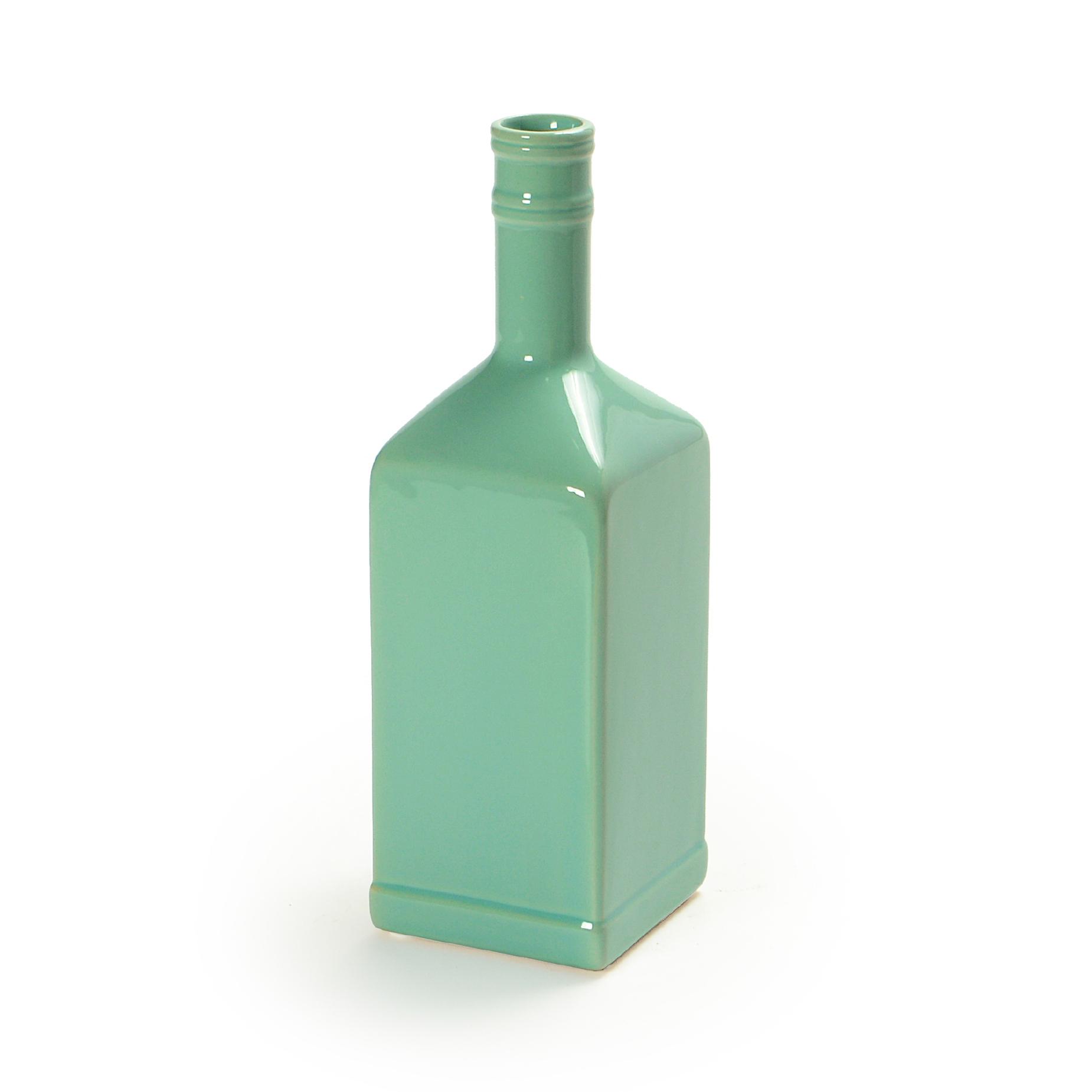 Garrafa de cerâmica Verde