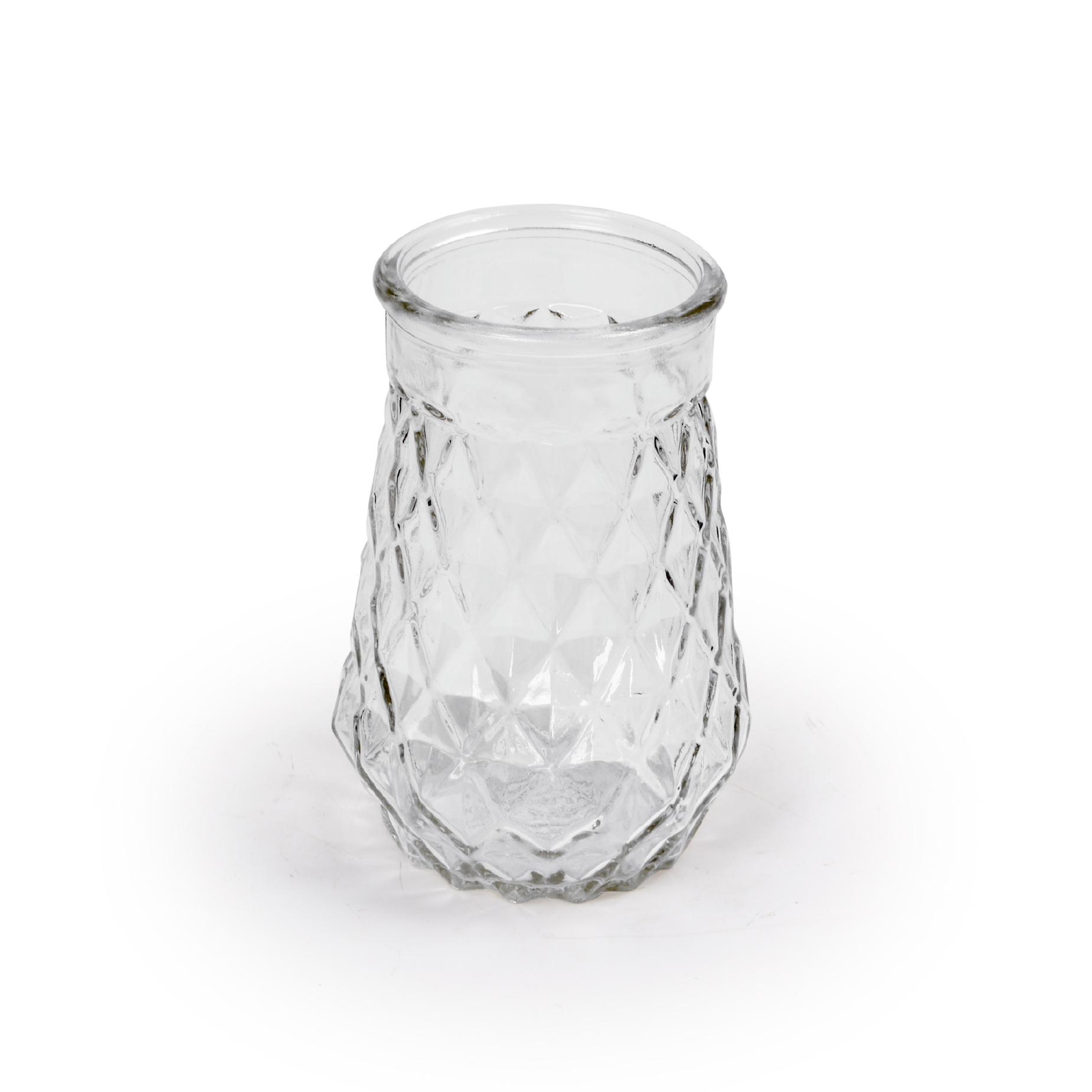 Vaso pequeno de vidro