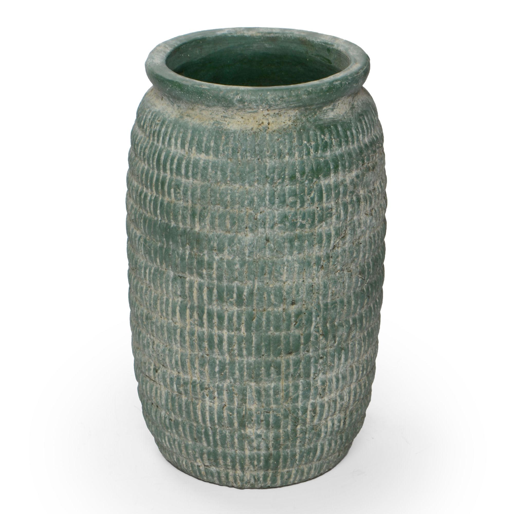 Vaso de cerâmica Grande Verde