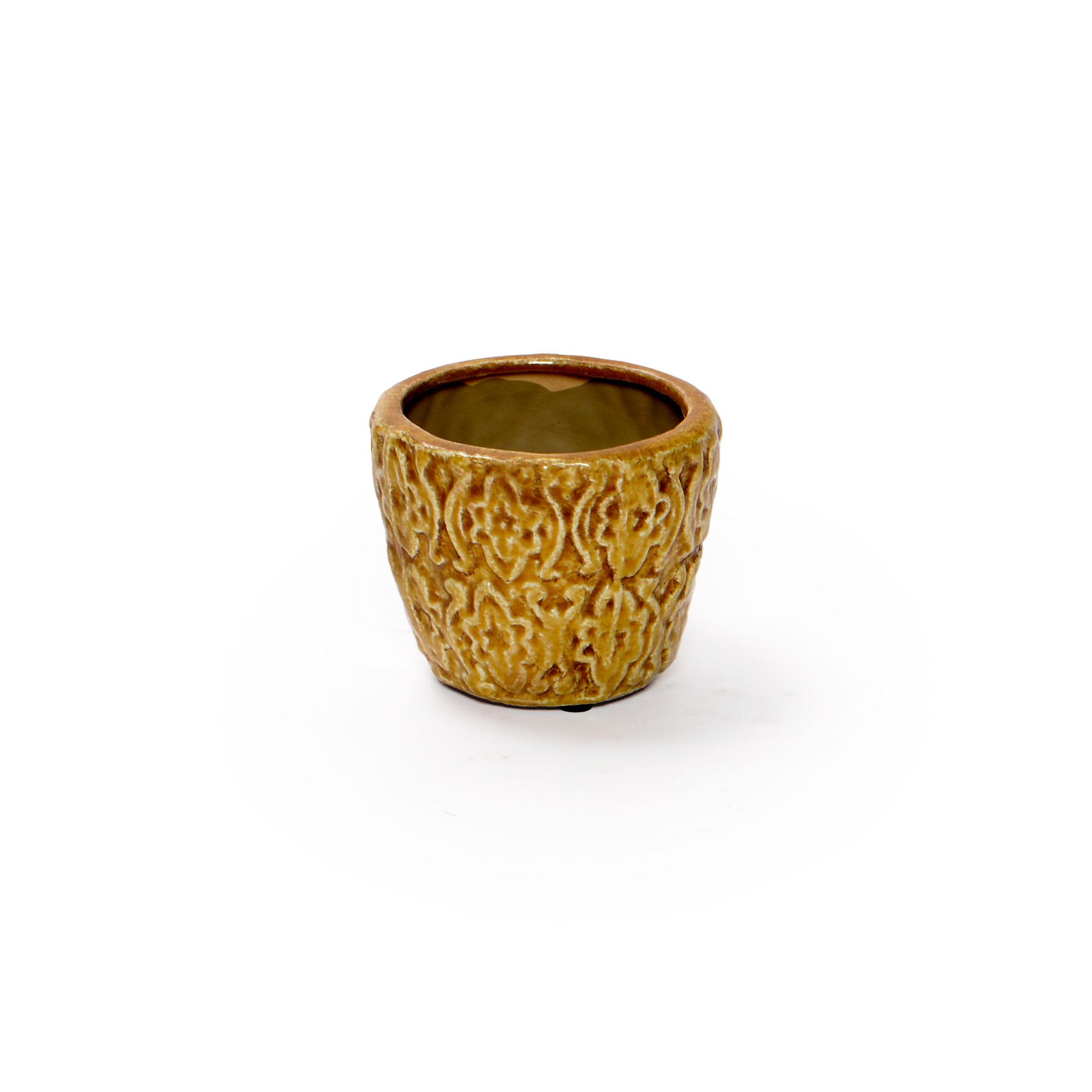 Cachepô de cerâmica Pequeno
