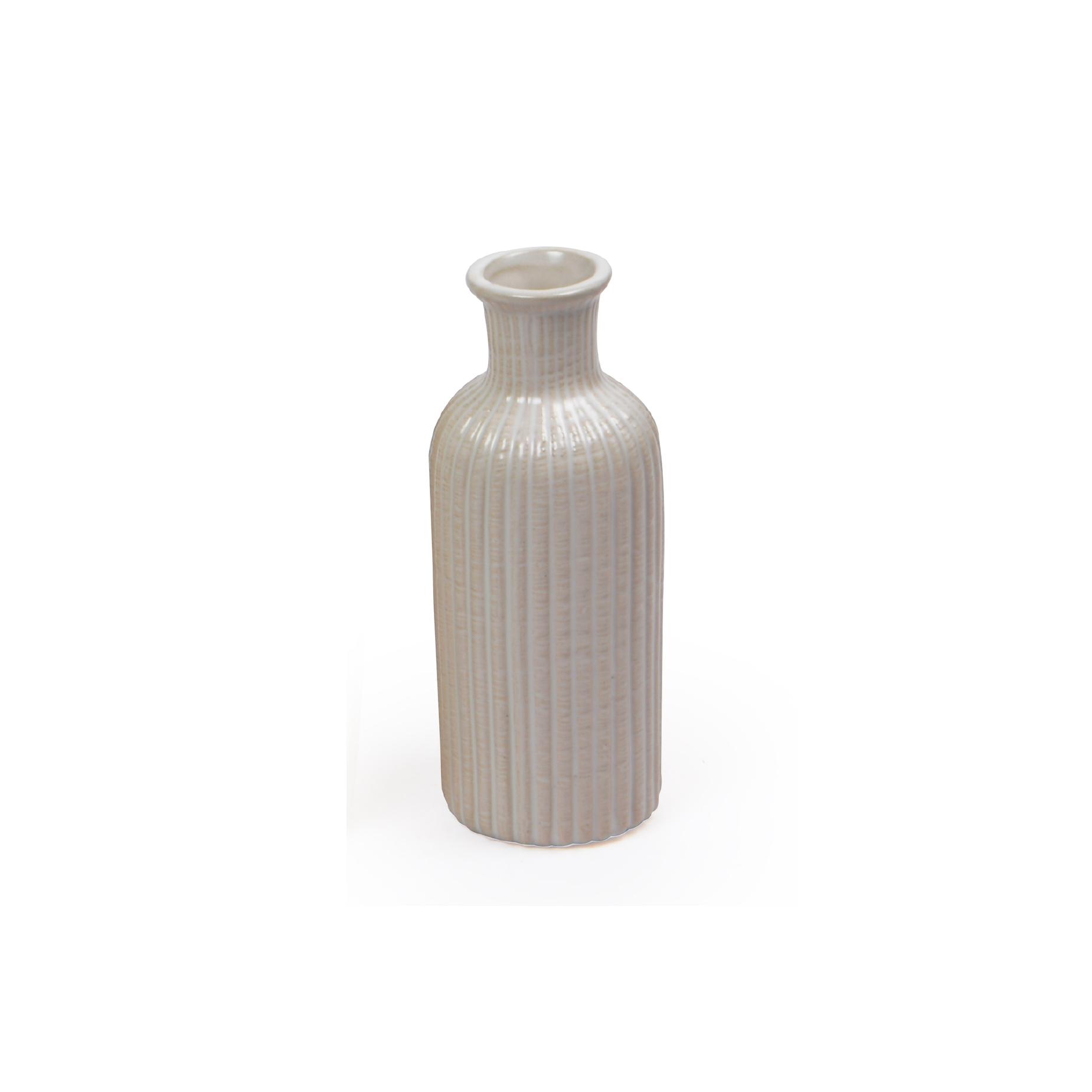 Vaso de cerâmica Branco