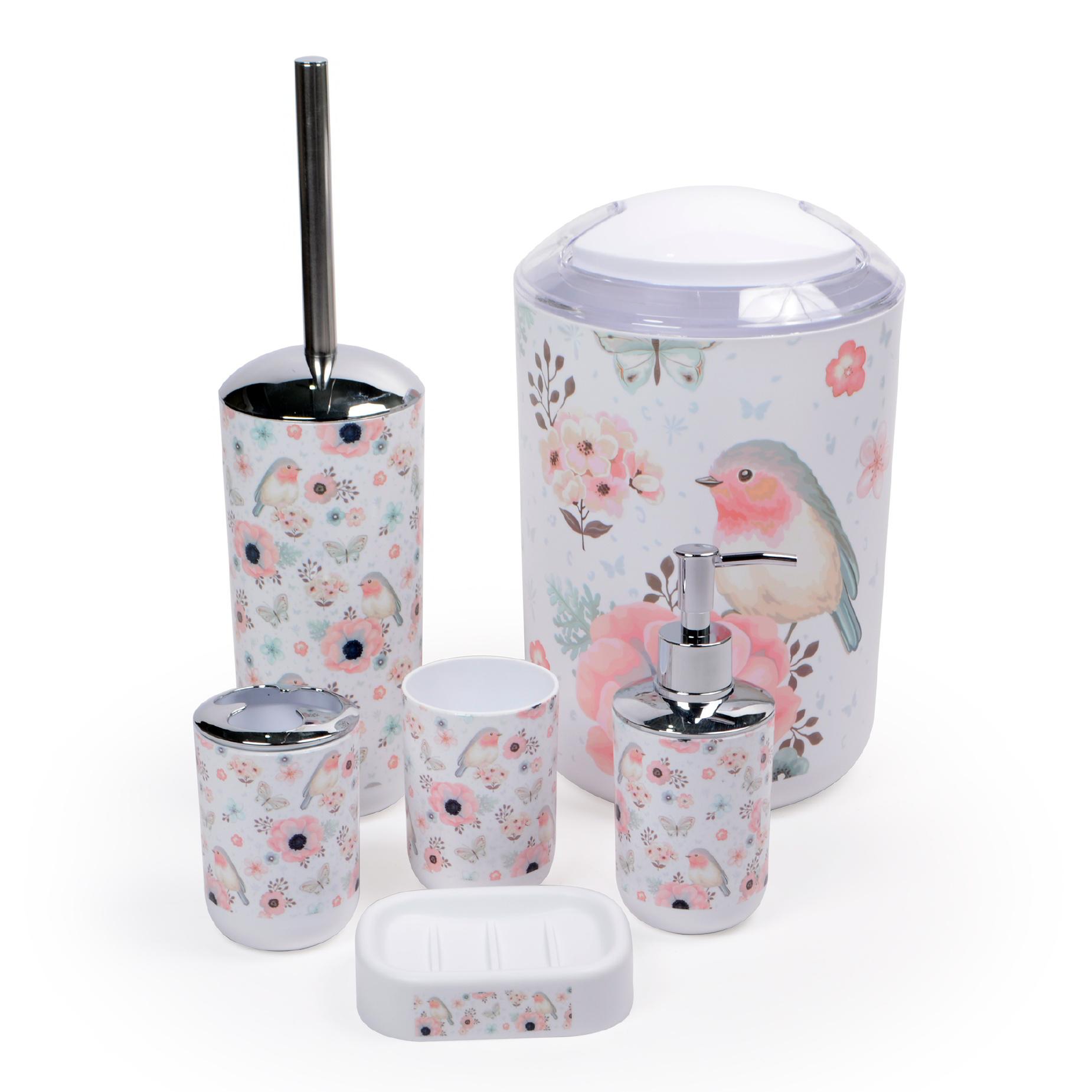 Kit para banheiro Birds
