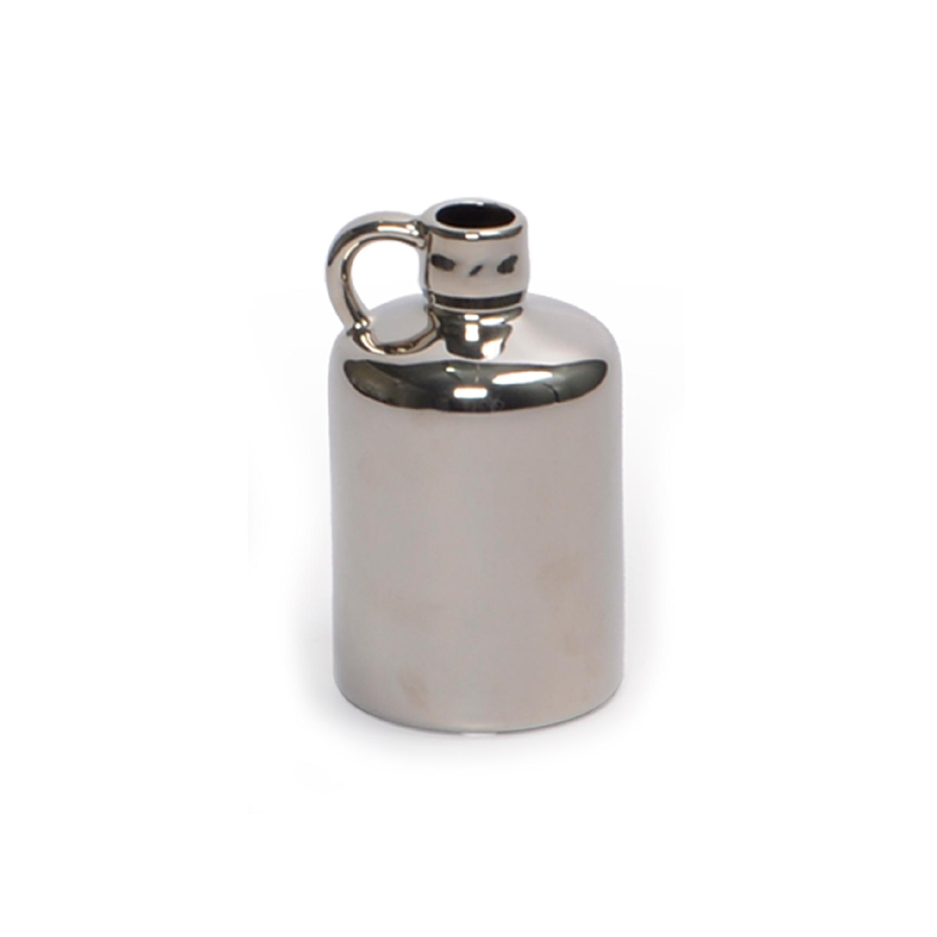 Vaso de cerâmica Prata