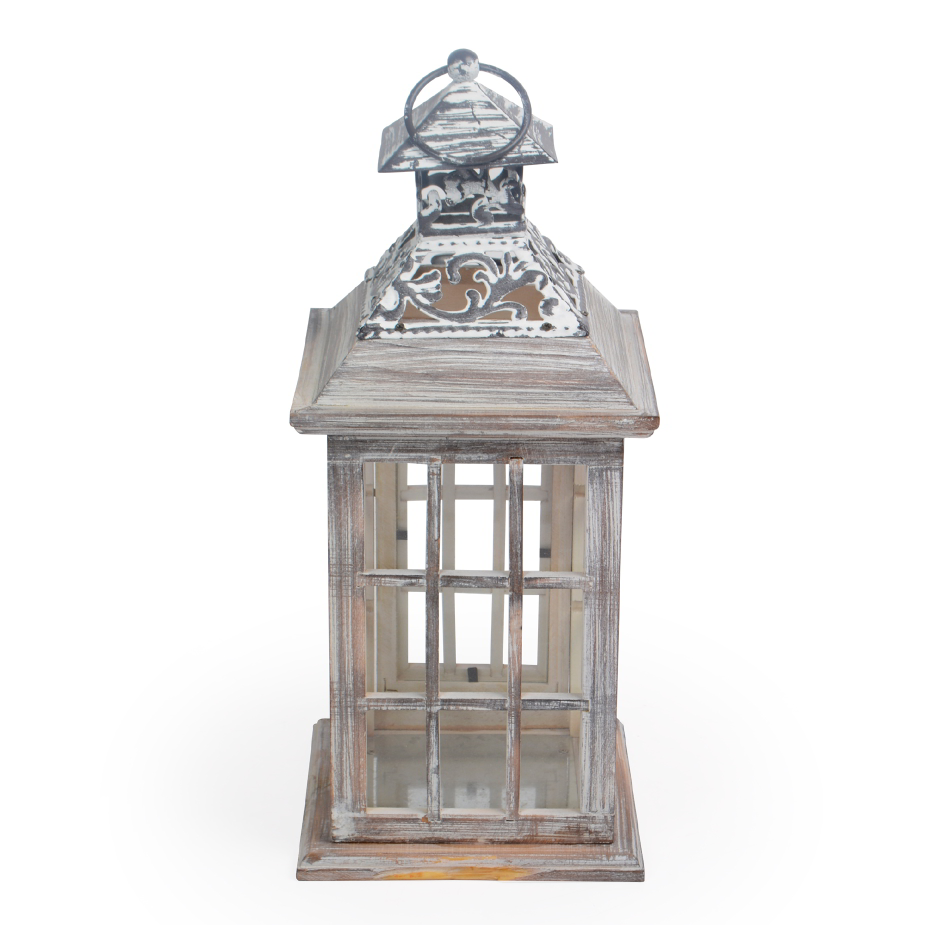 Lanterna de ferro decorativa