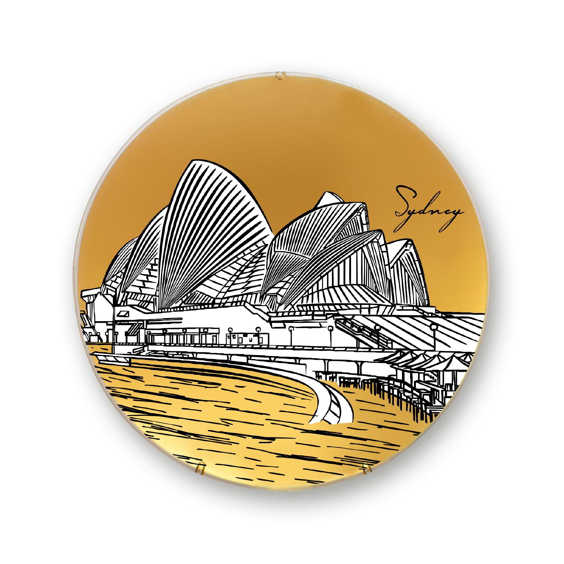 Prato de parede Sydney