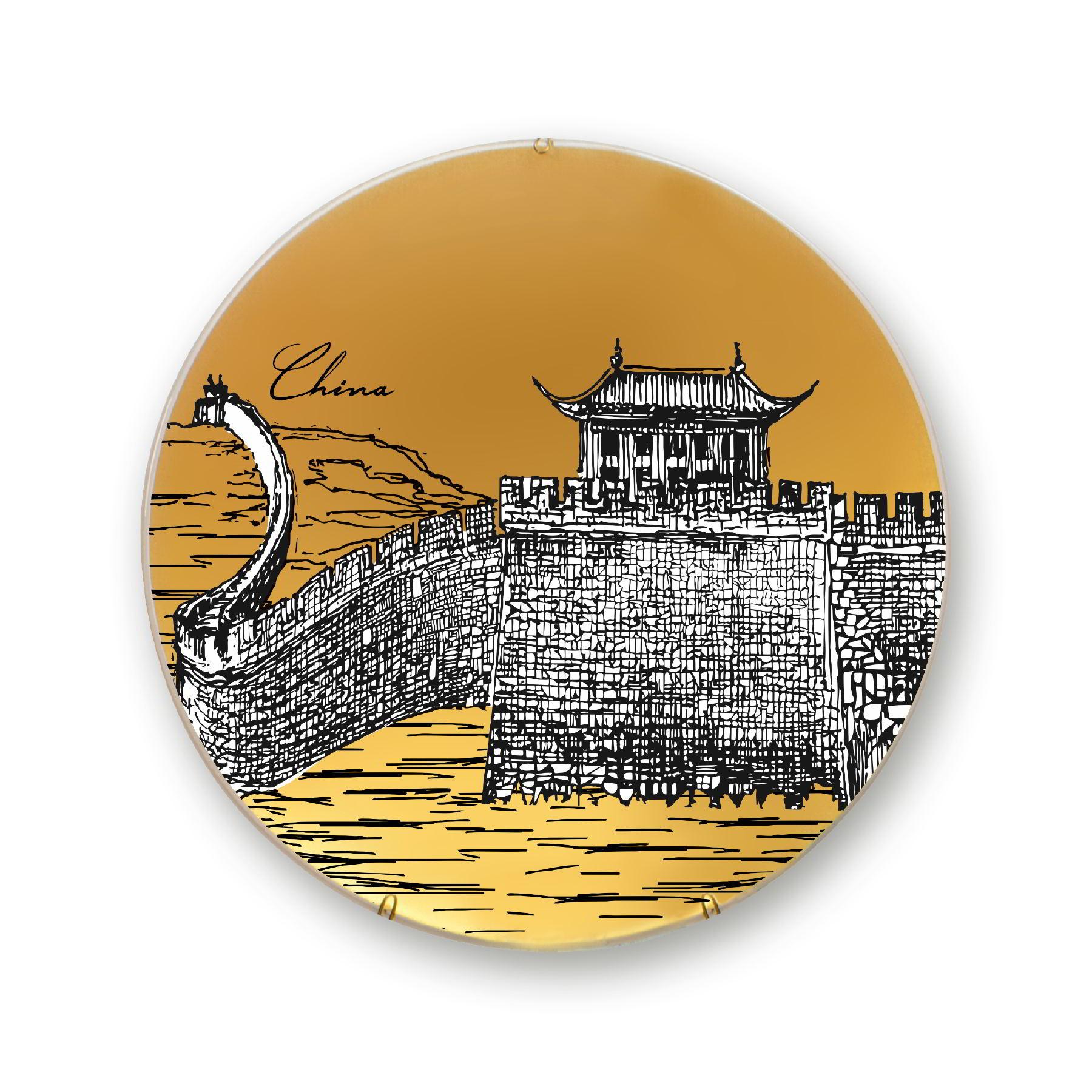 Prato de parede China