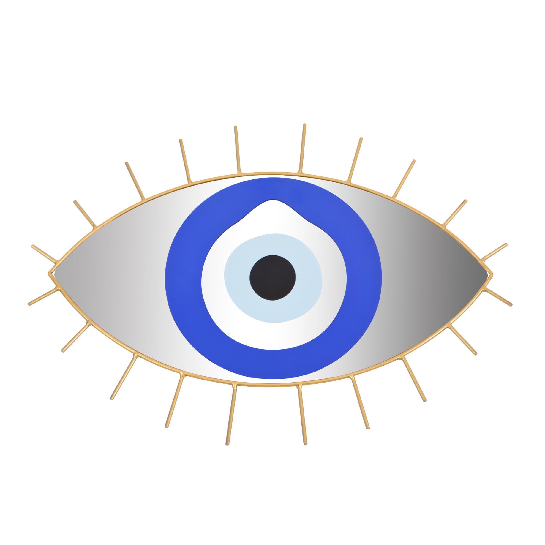 Espelho de ferro grande Olho Grego