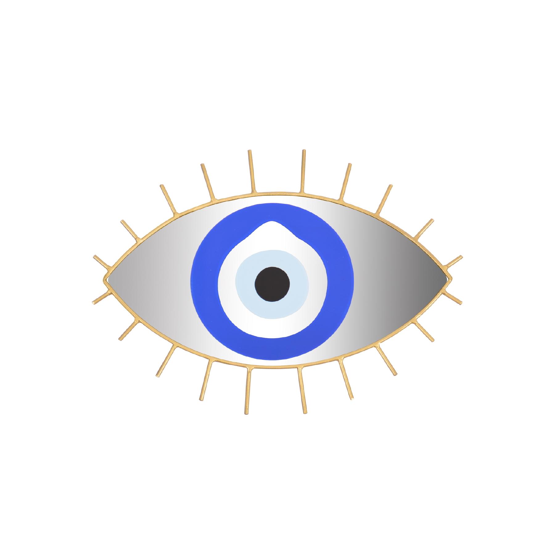 Espelho de ferro médio Olho Grego