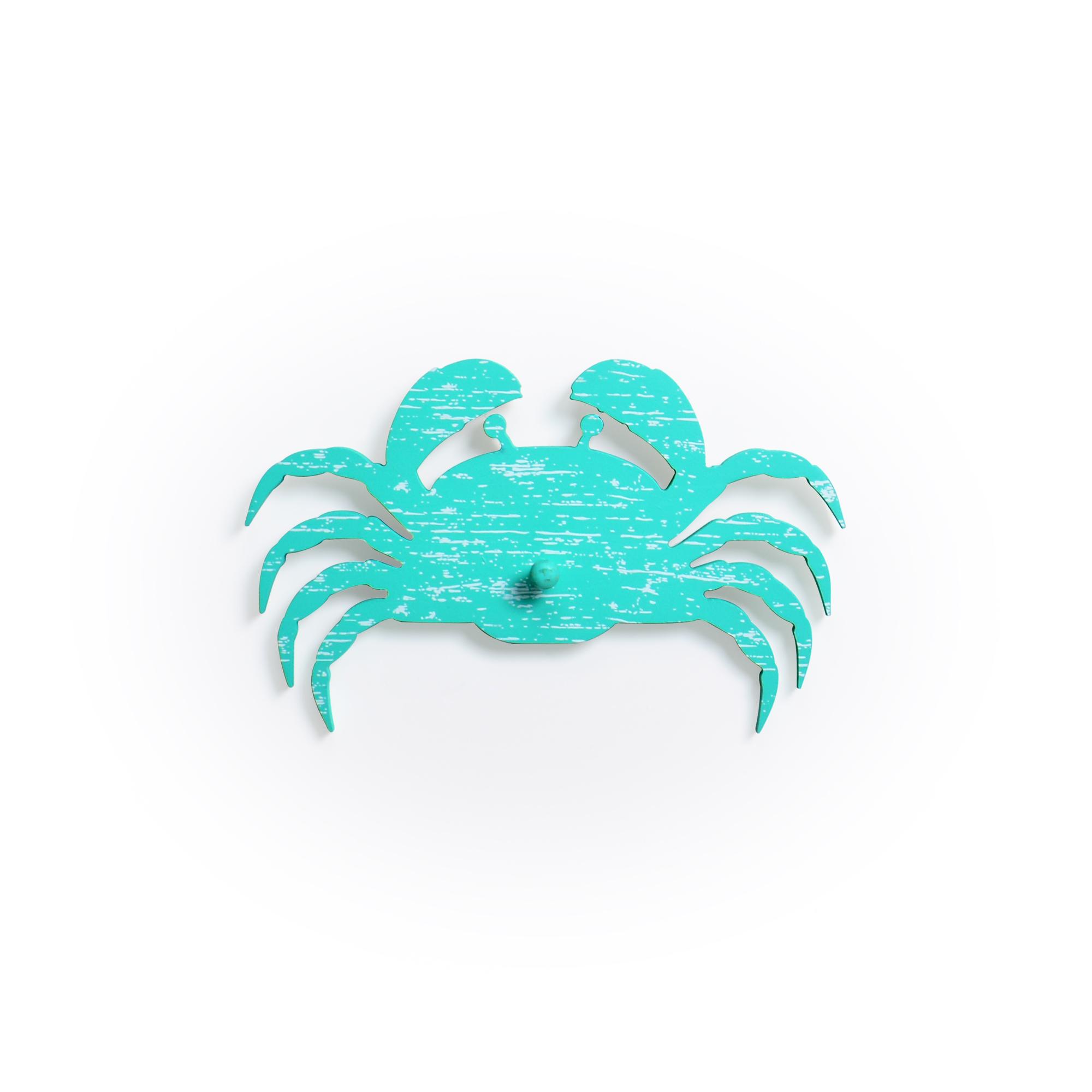 Caranguejo Decorativo com ganchos Tiffany