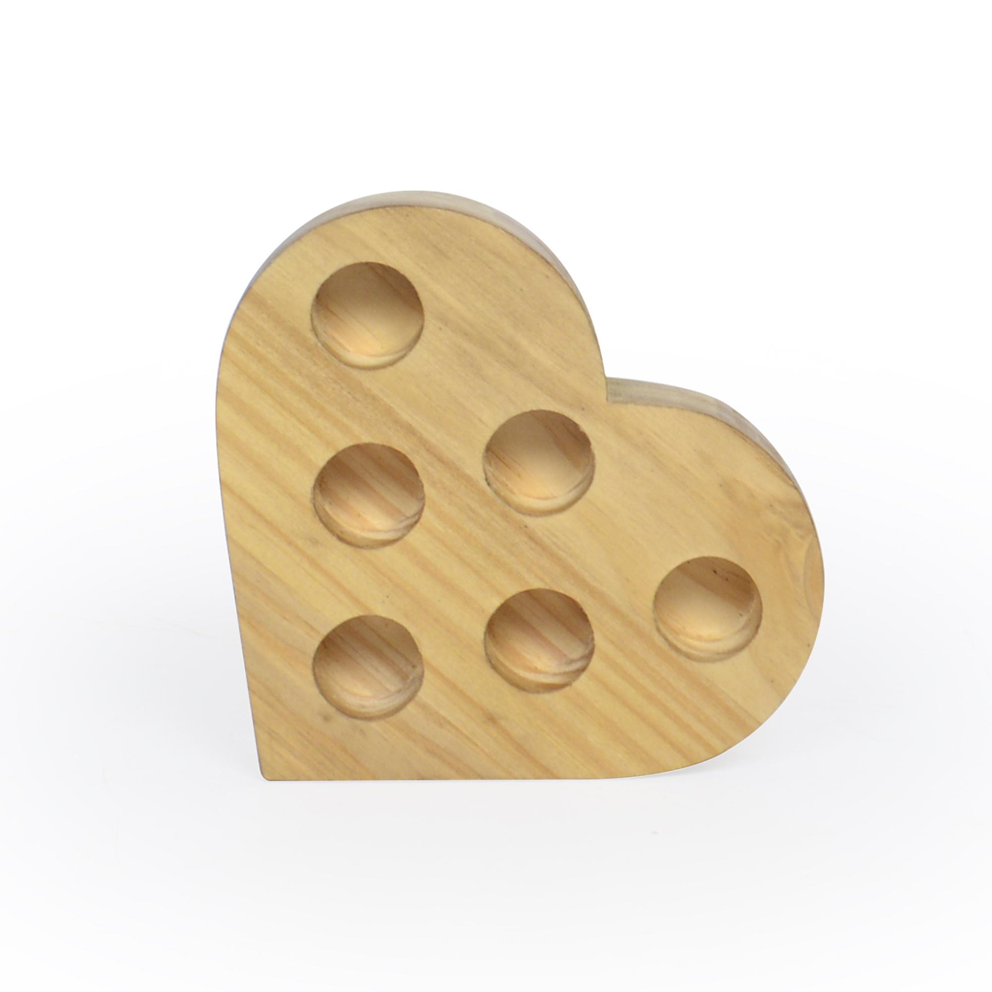 Porta batom Coração