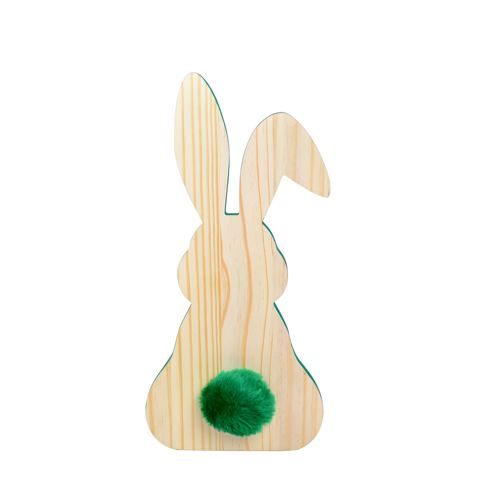 Escultura de madeira Coelho M