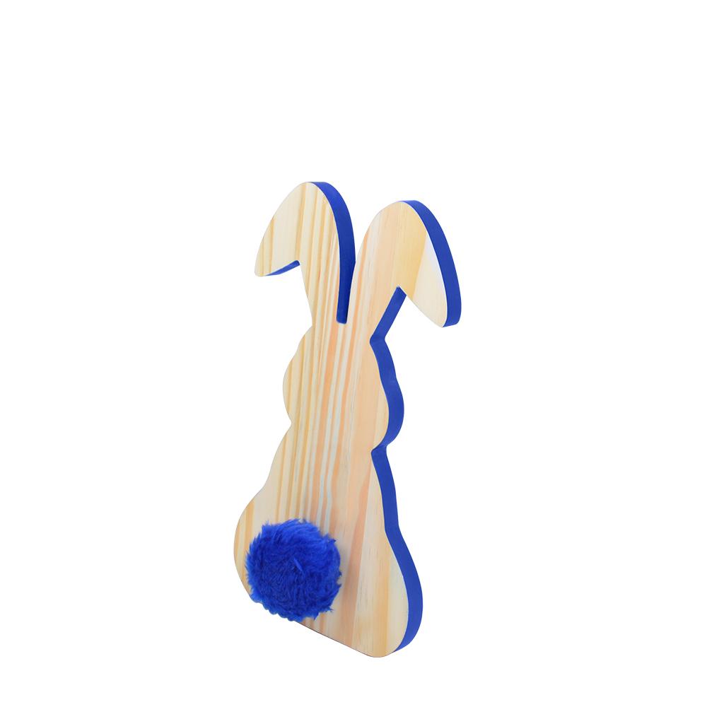 Escultura de madeira coelho P