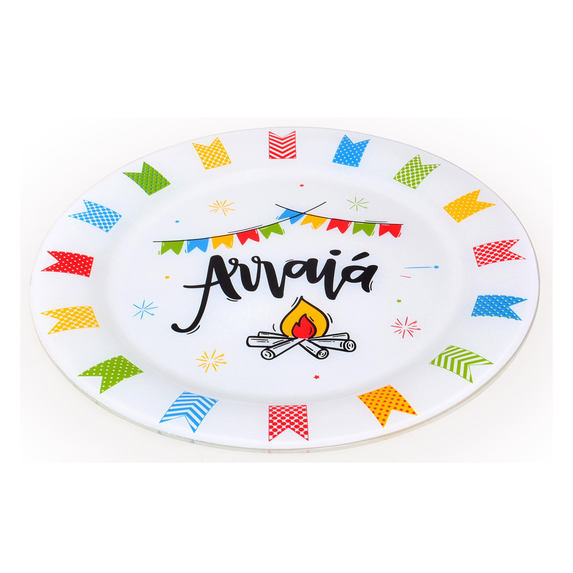 Prato para bolo Festa Junina
