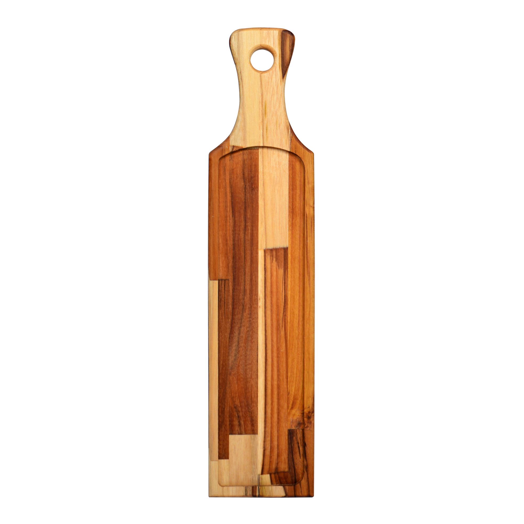 Tábua odelo Baguete de madeira Teca