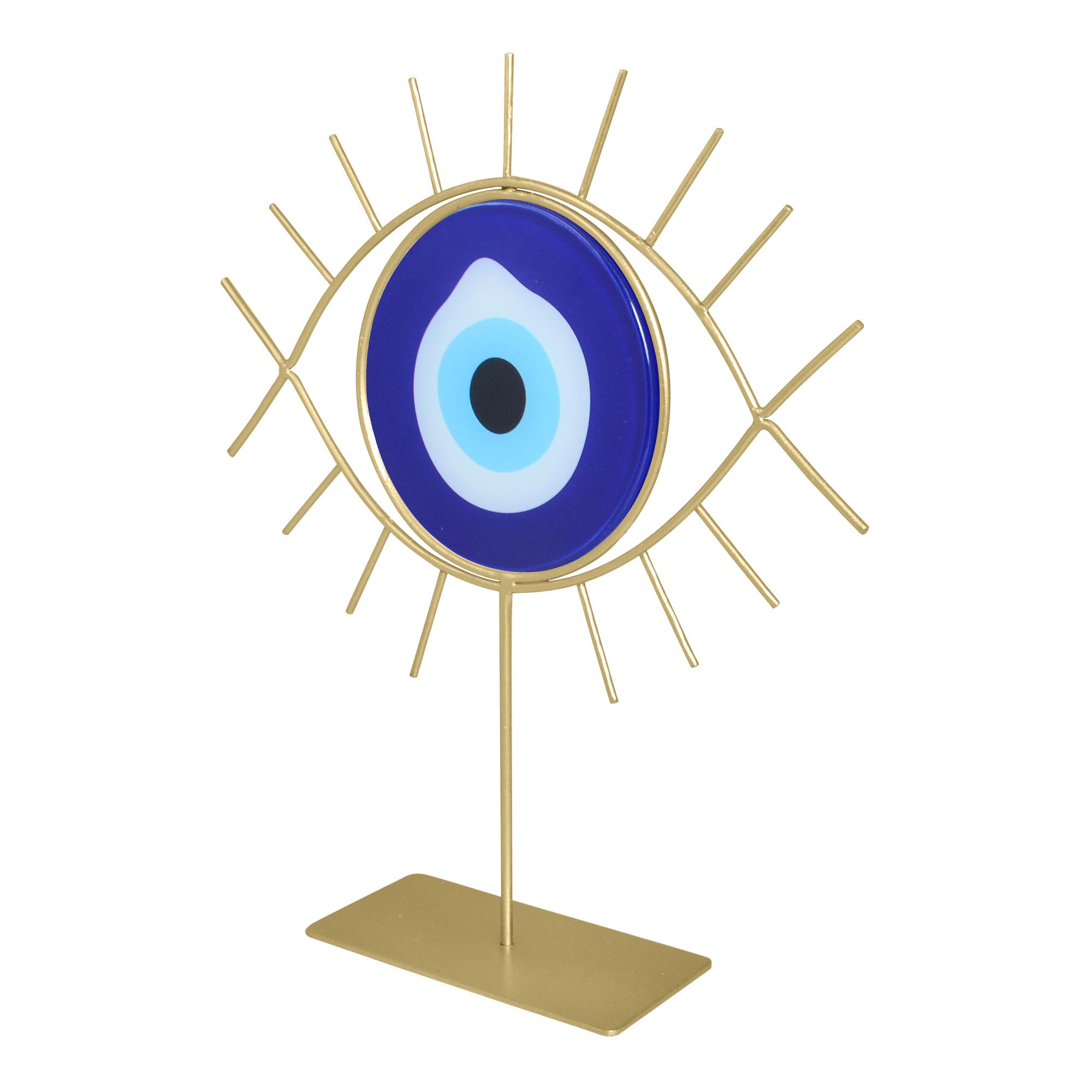 Escultura Olho Grego com espelho