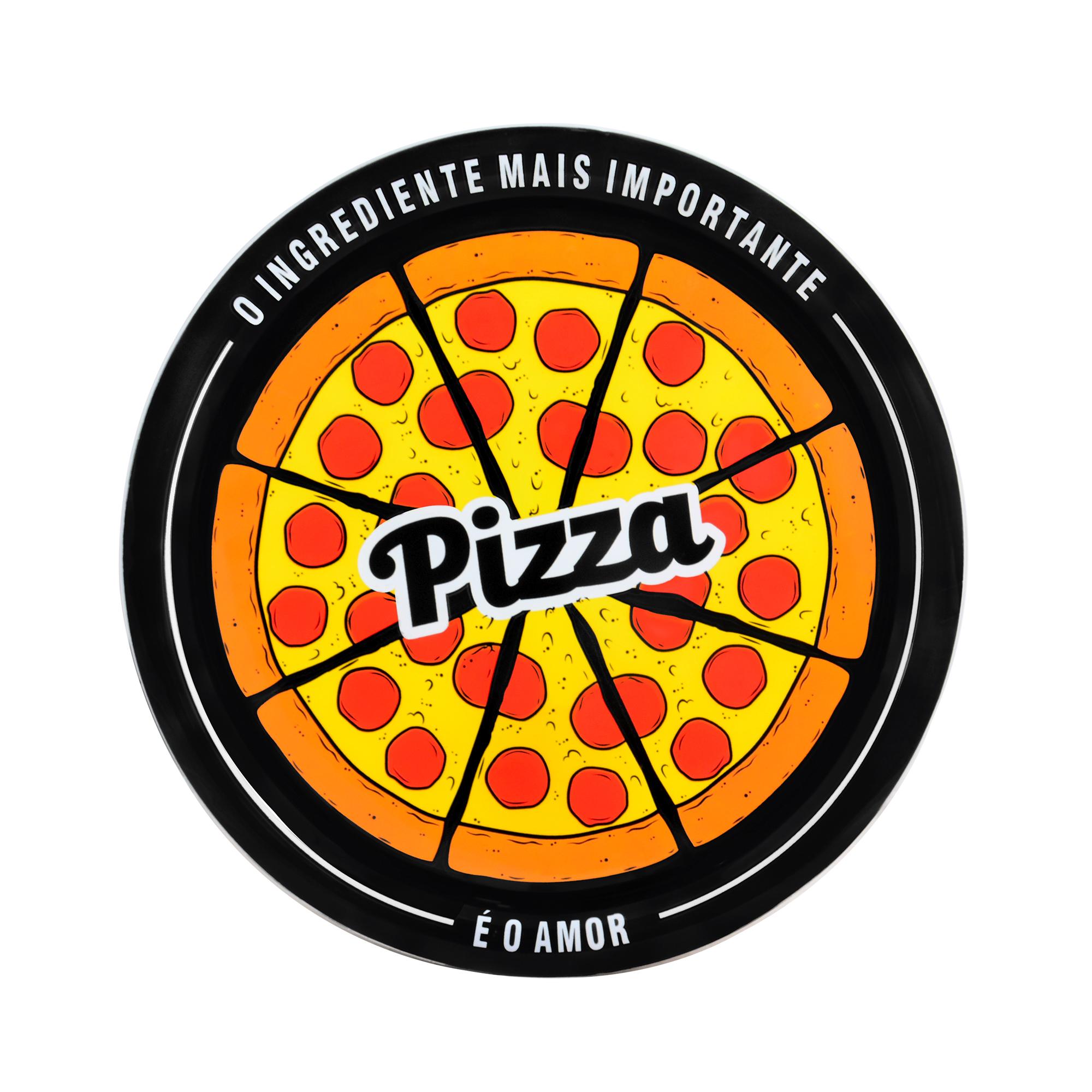 Prato para pizza Pepperoni