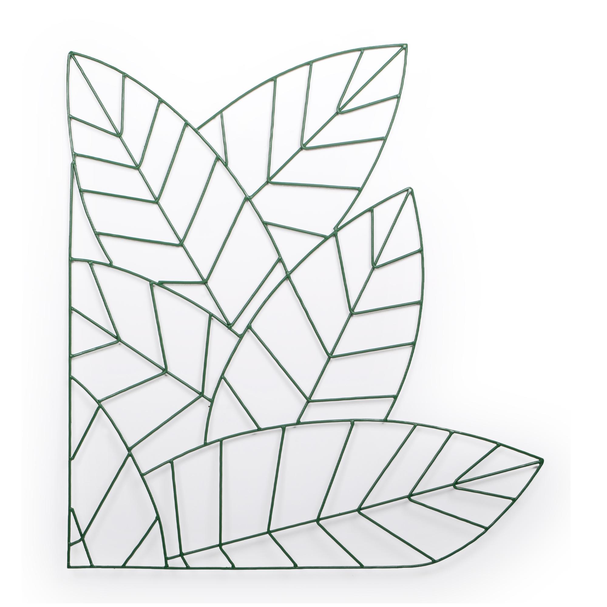 Mandala de Ferro Folhas