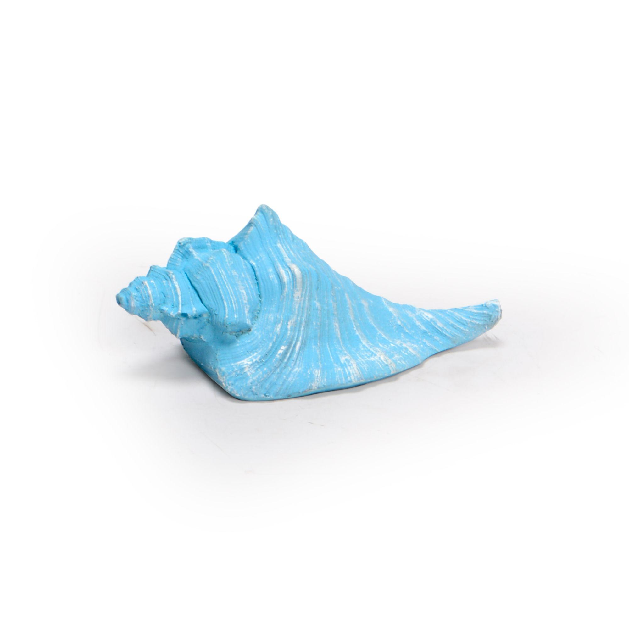 Concha de resina Azul Claro