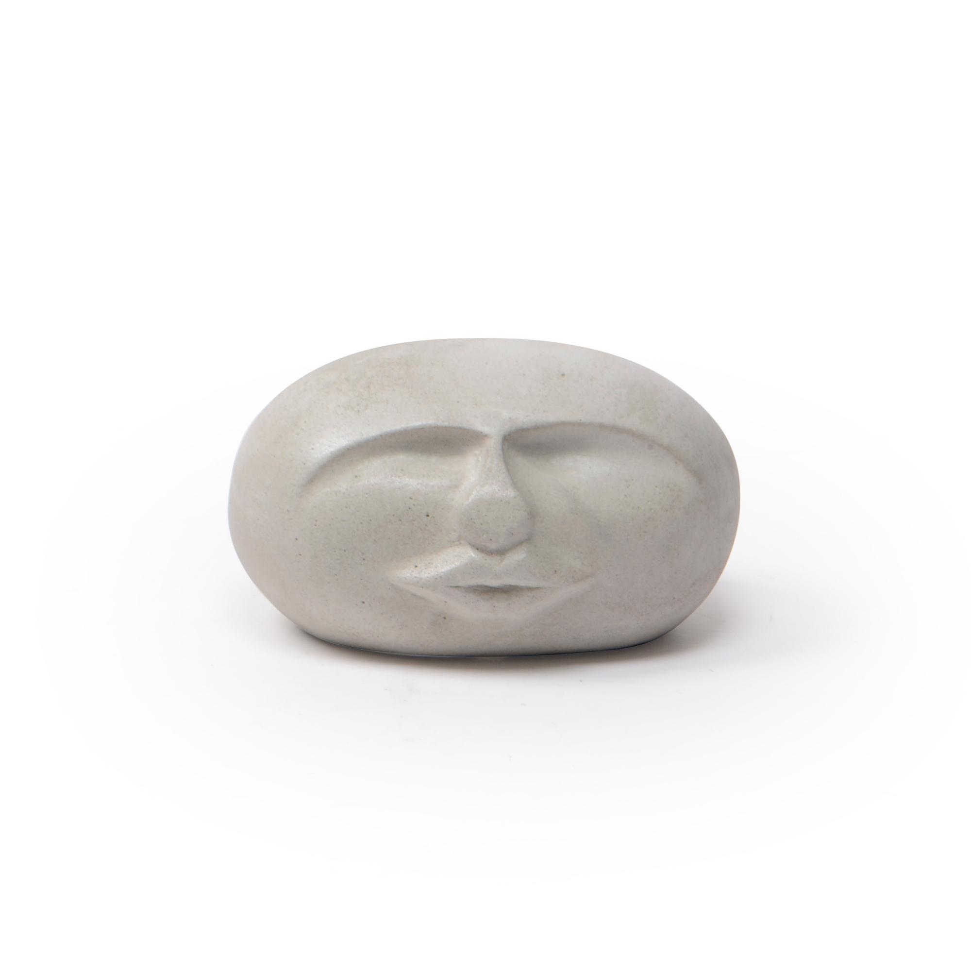 Escultura de Concreto Rosto