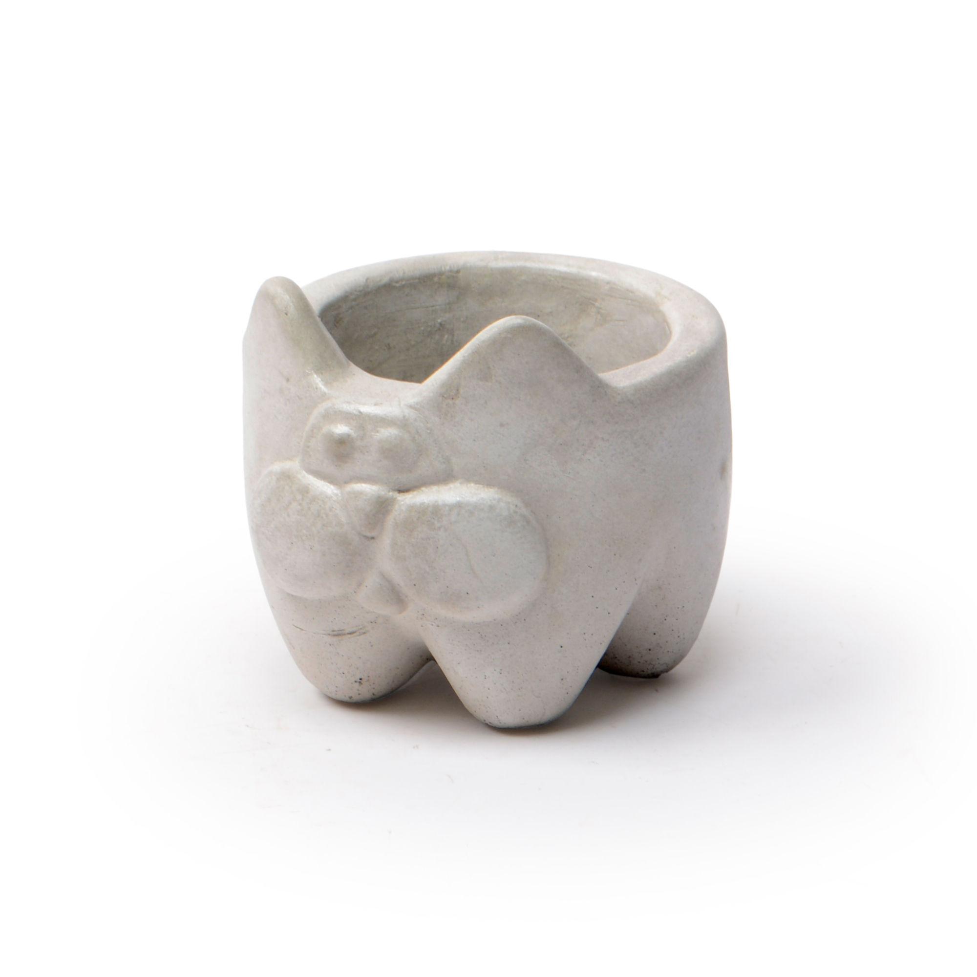 Vaso de concreto Gato