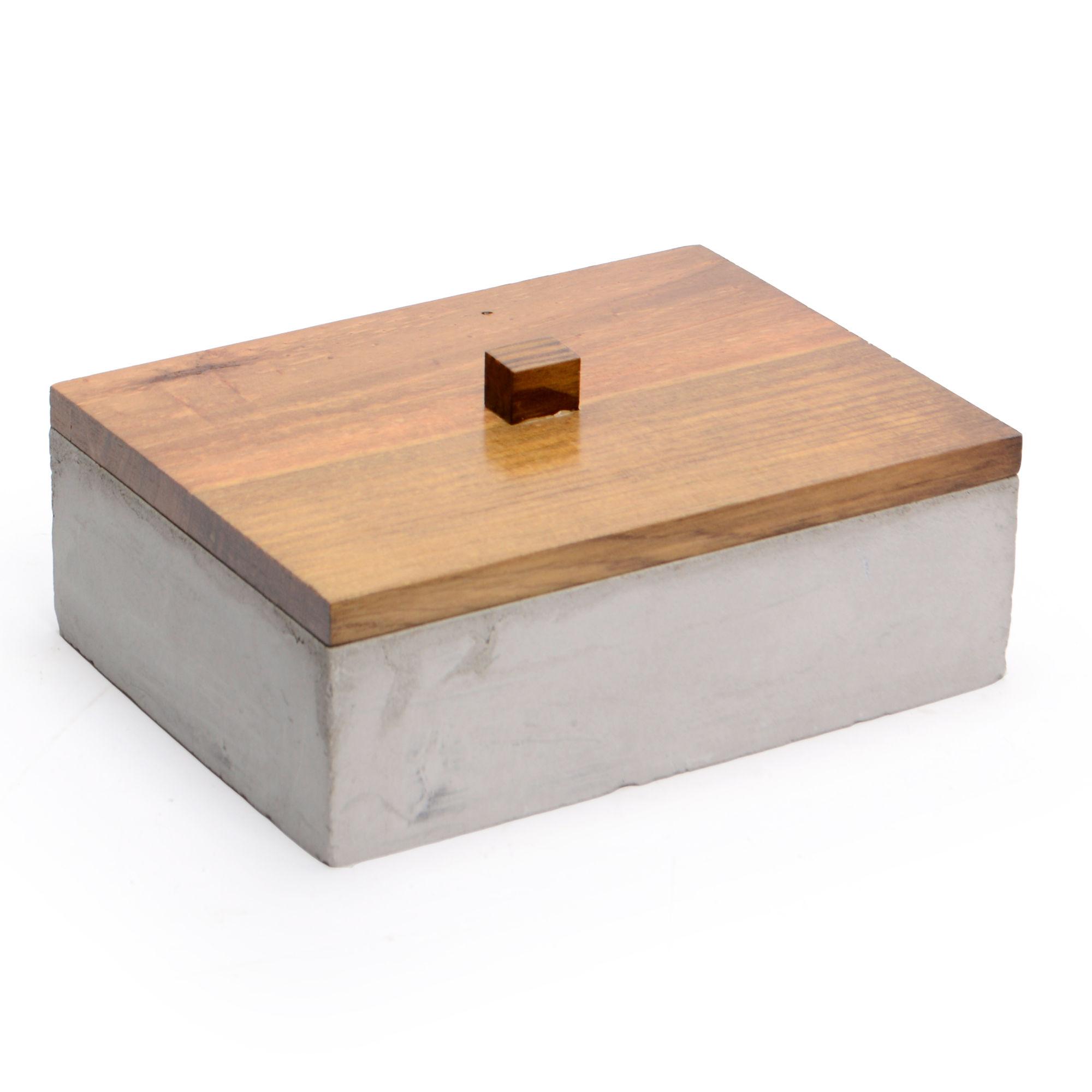 Caixa de concreto Retangular