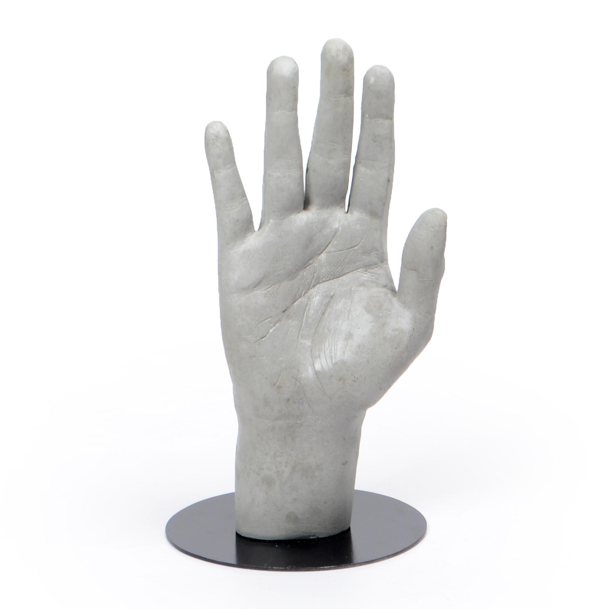 Escultura de concreto Mão