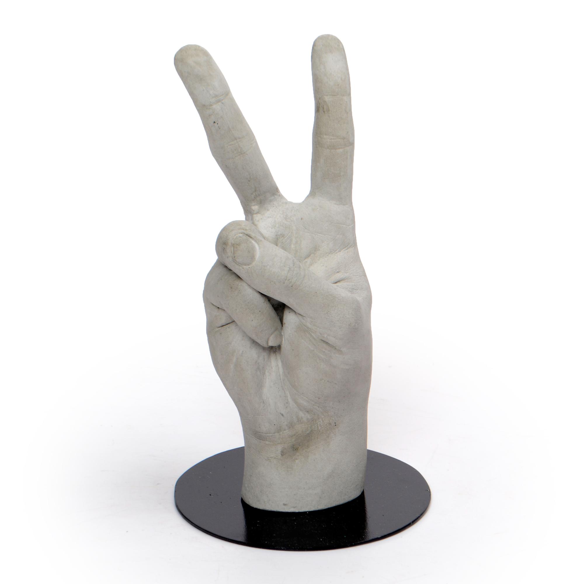 Escultura de Concreto Paz