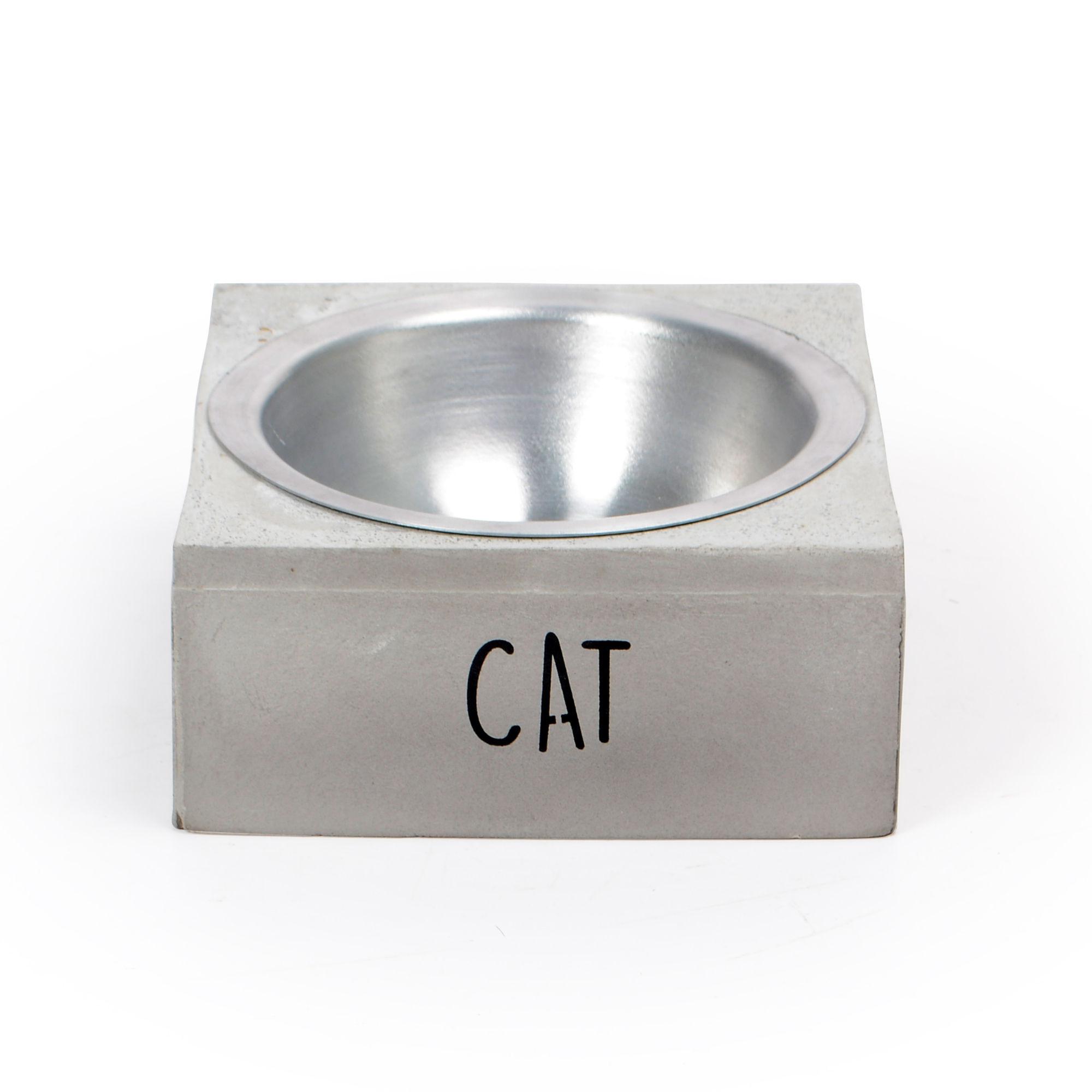 Comedouro de Concreto Cat