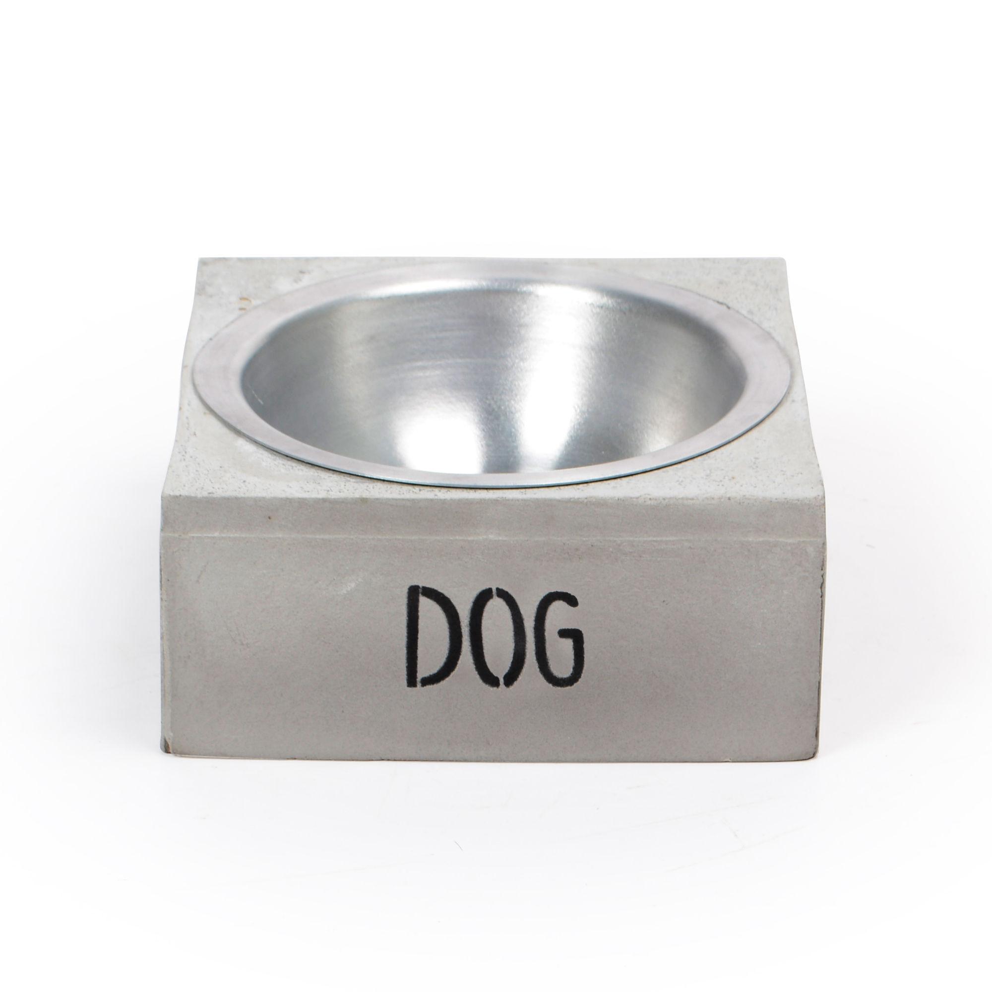Comedouro de Concreto Dog