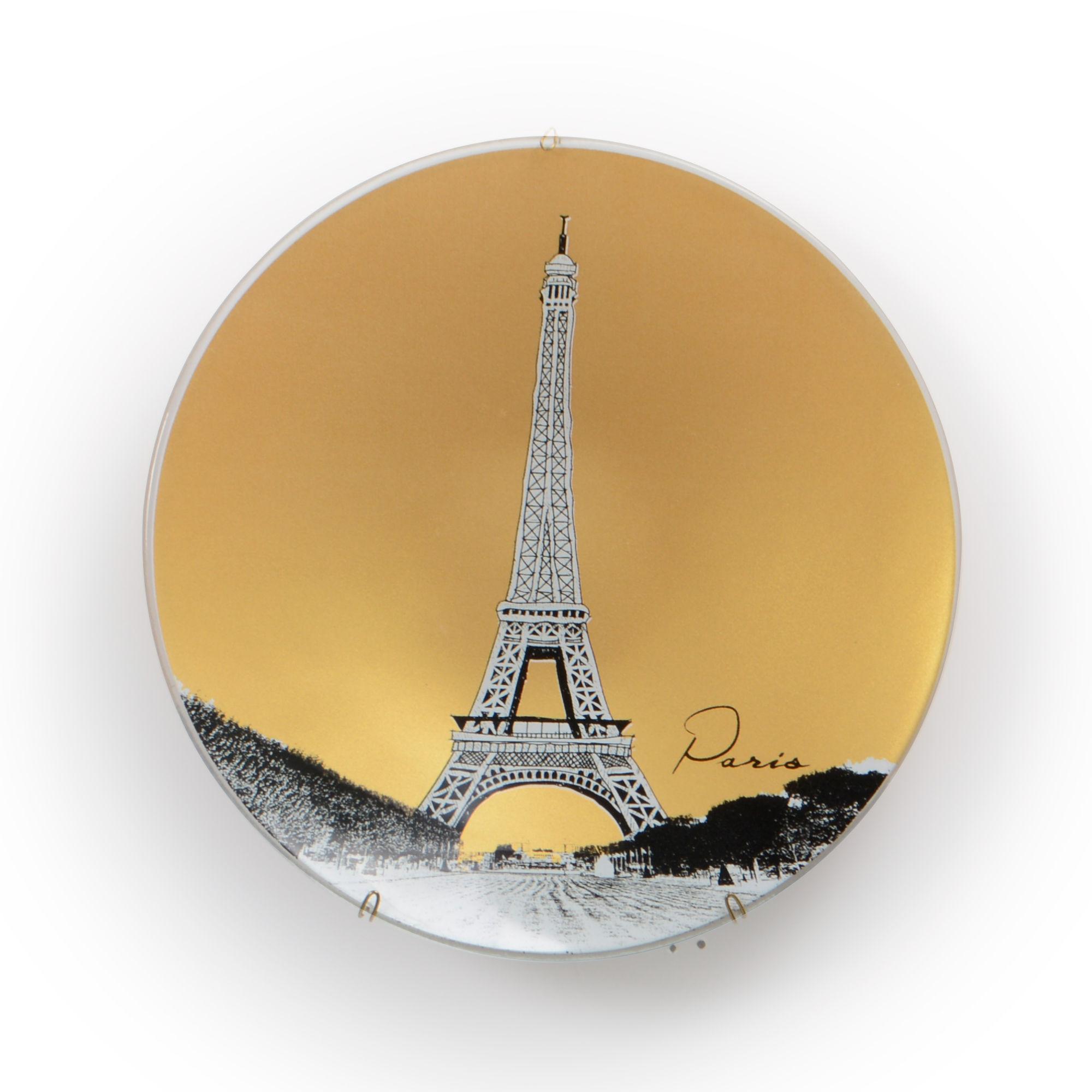 Prato de parede Paris