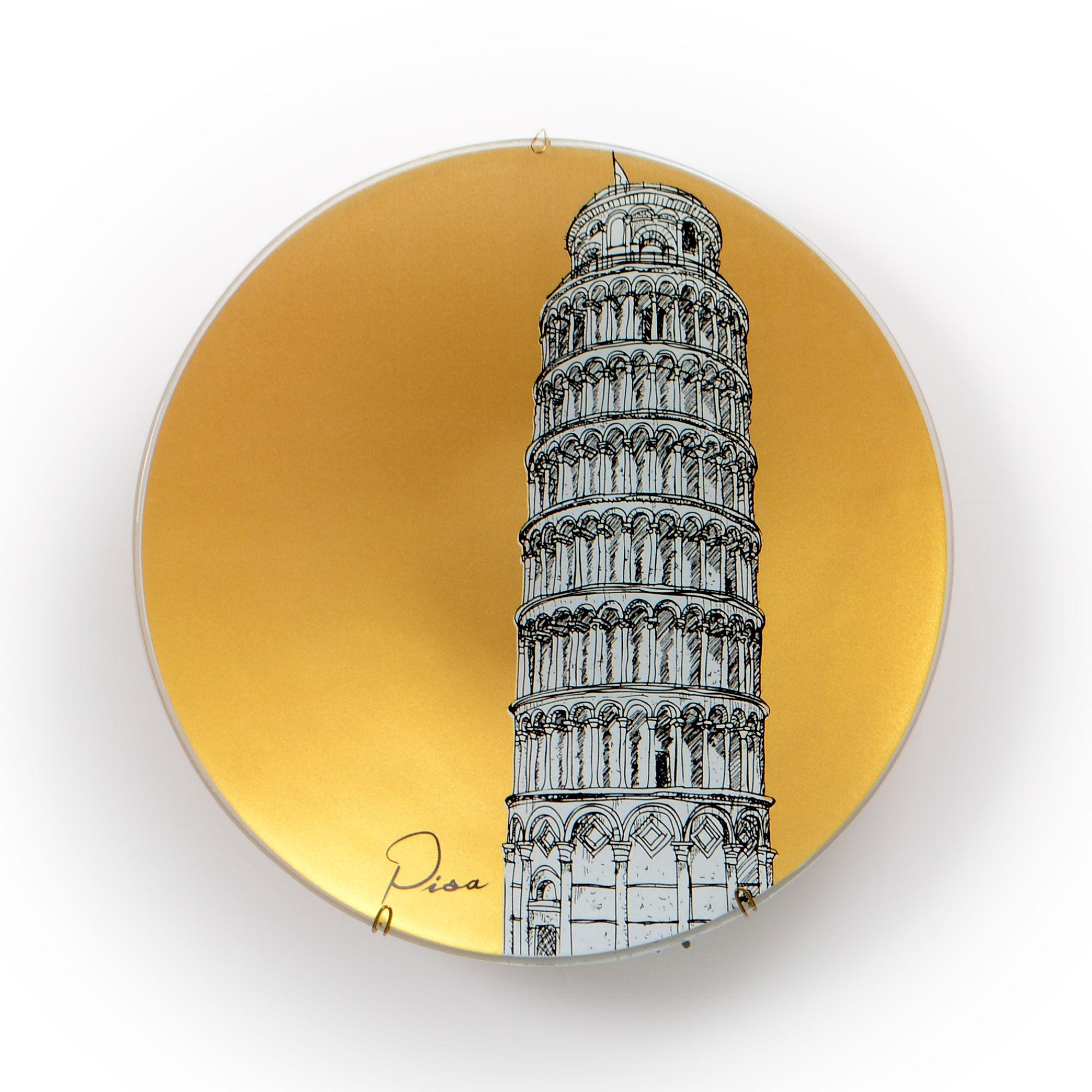 Prato de parede Pisa