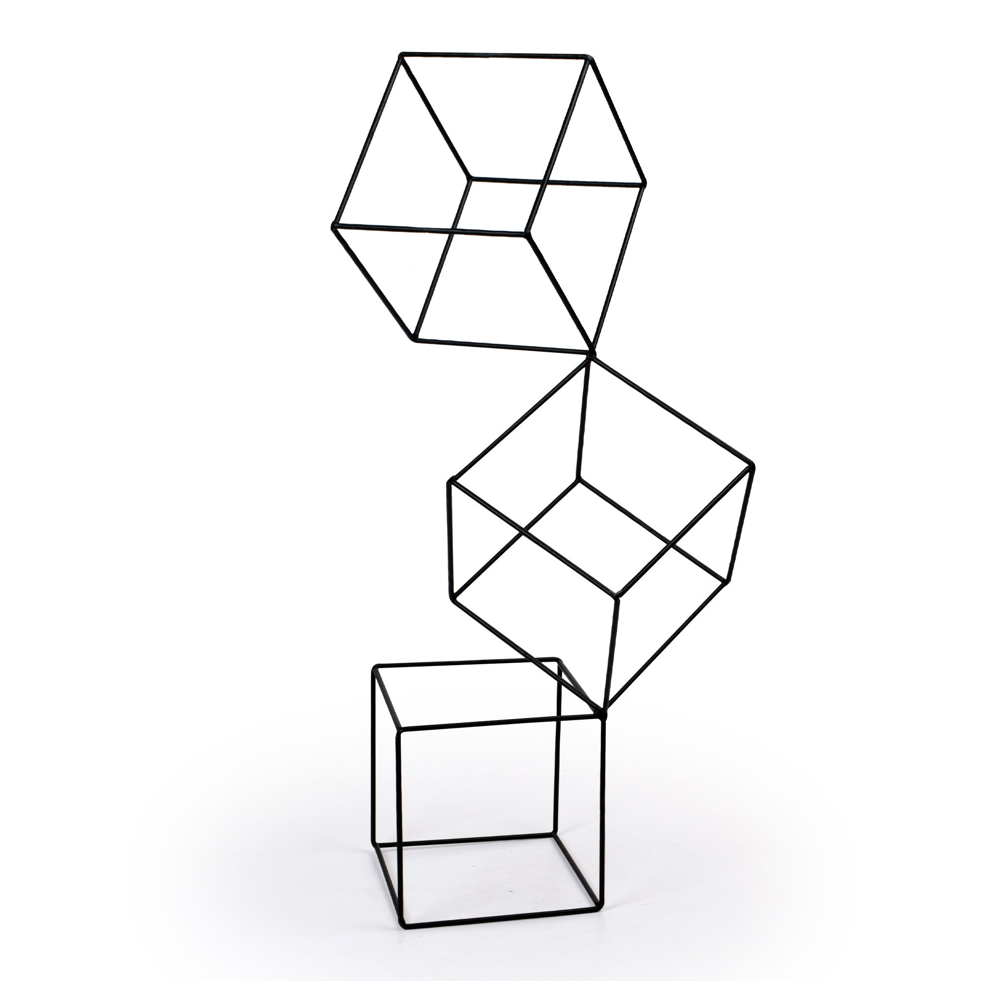 Escultura grande Cubos