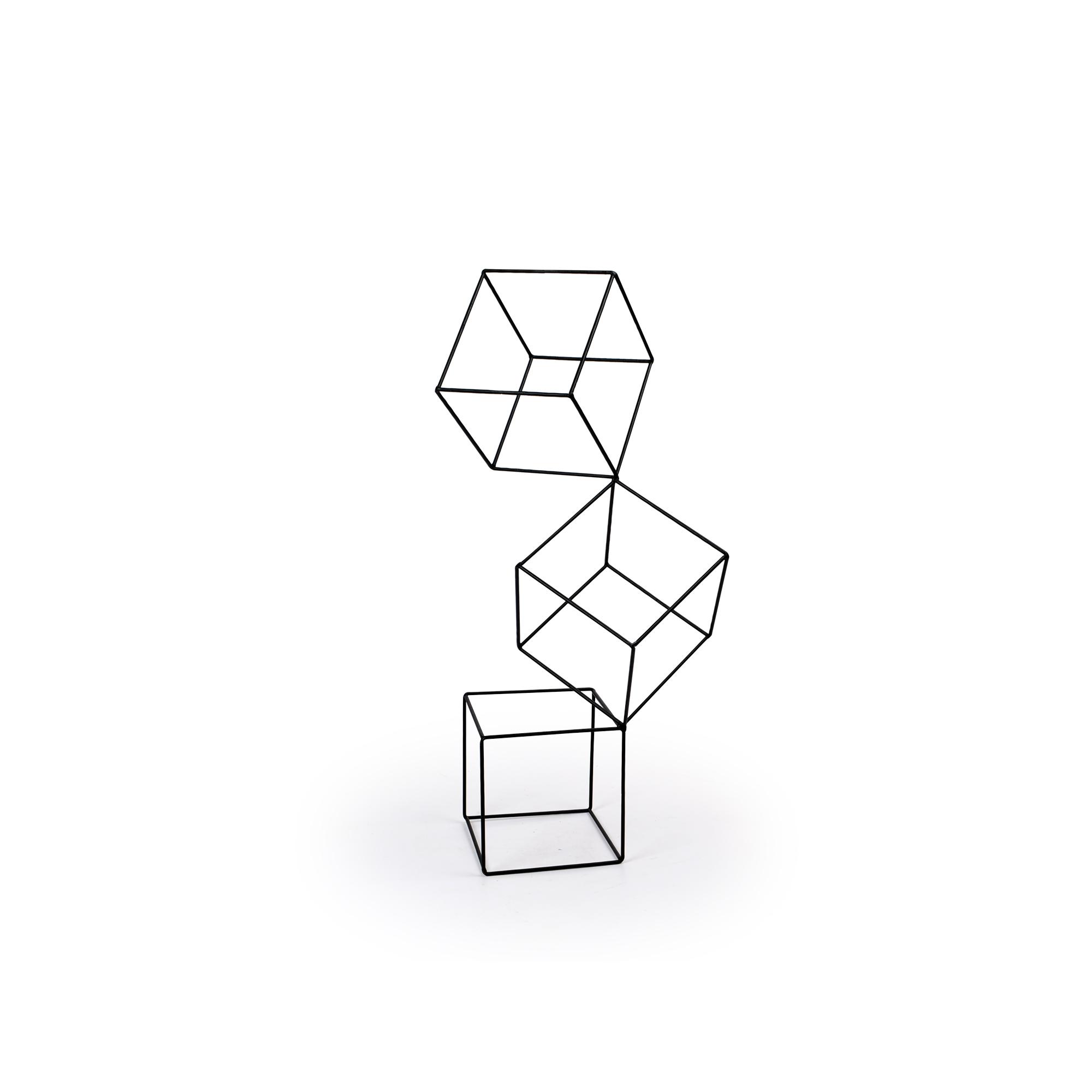 Escultura pequena Cubos