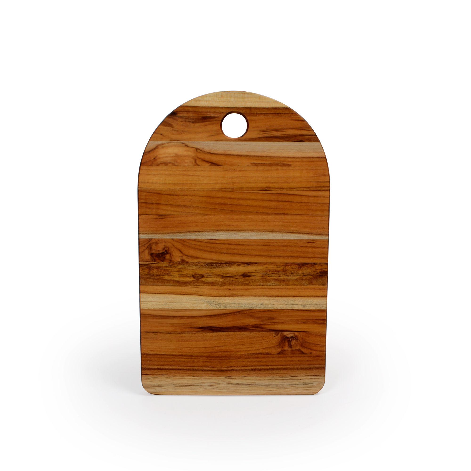 Tábua para queijo de madeira Teca Retangular