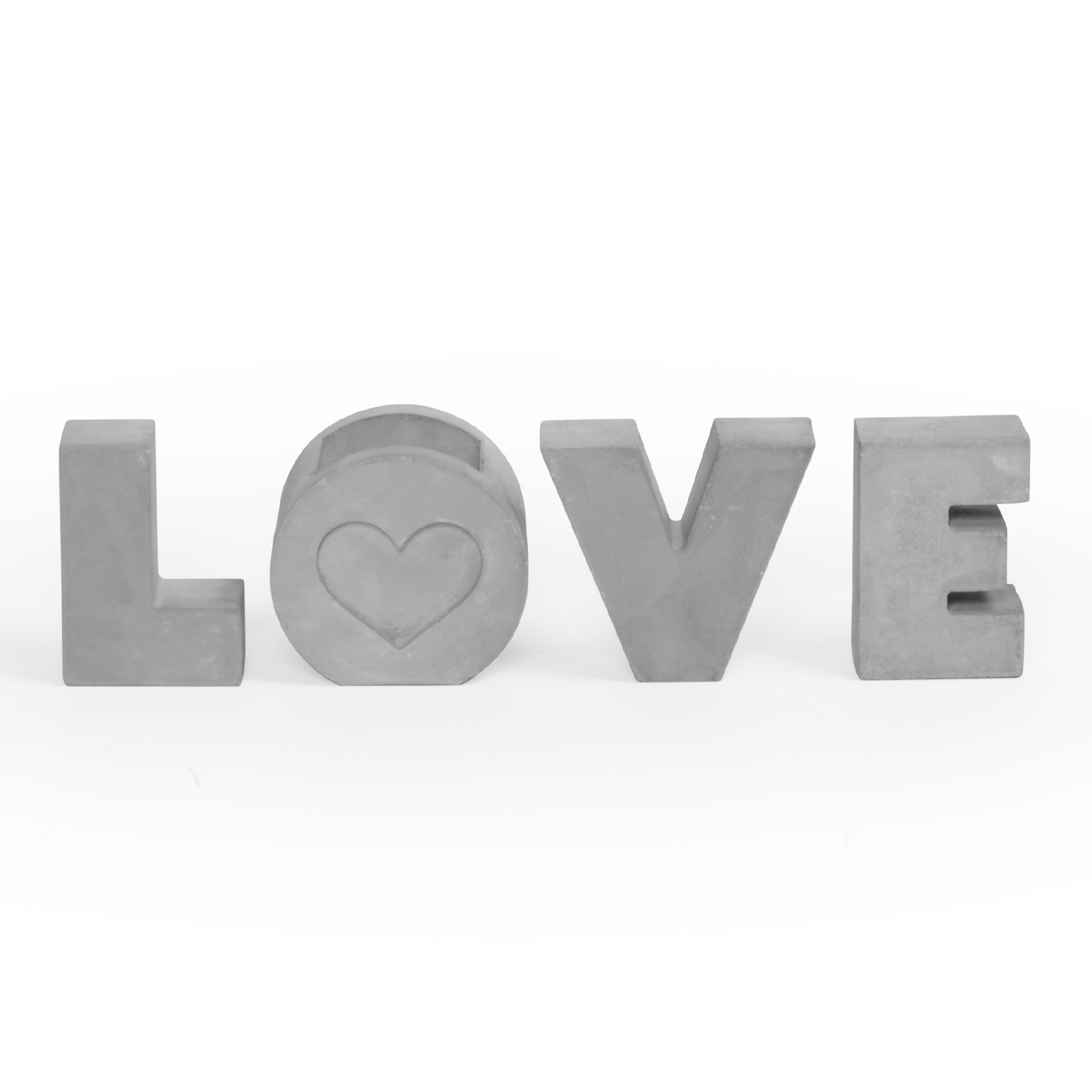 Conjunto Love de Concreto