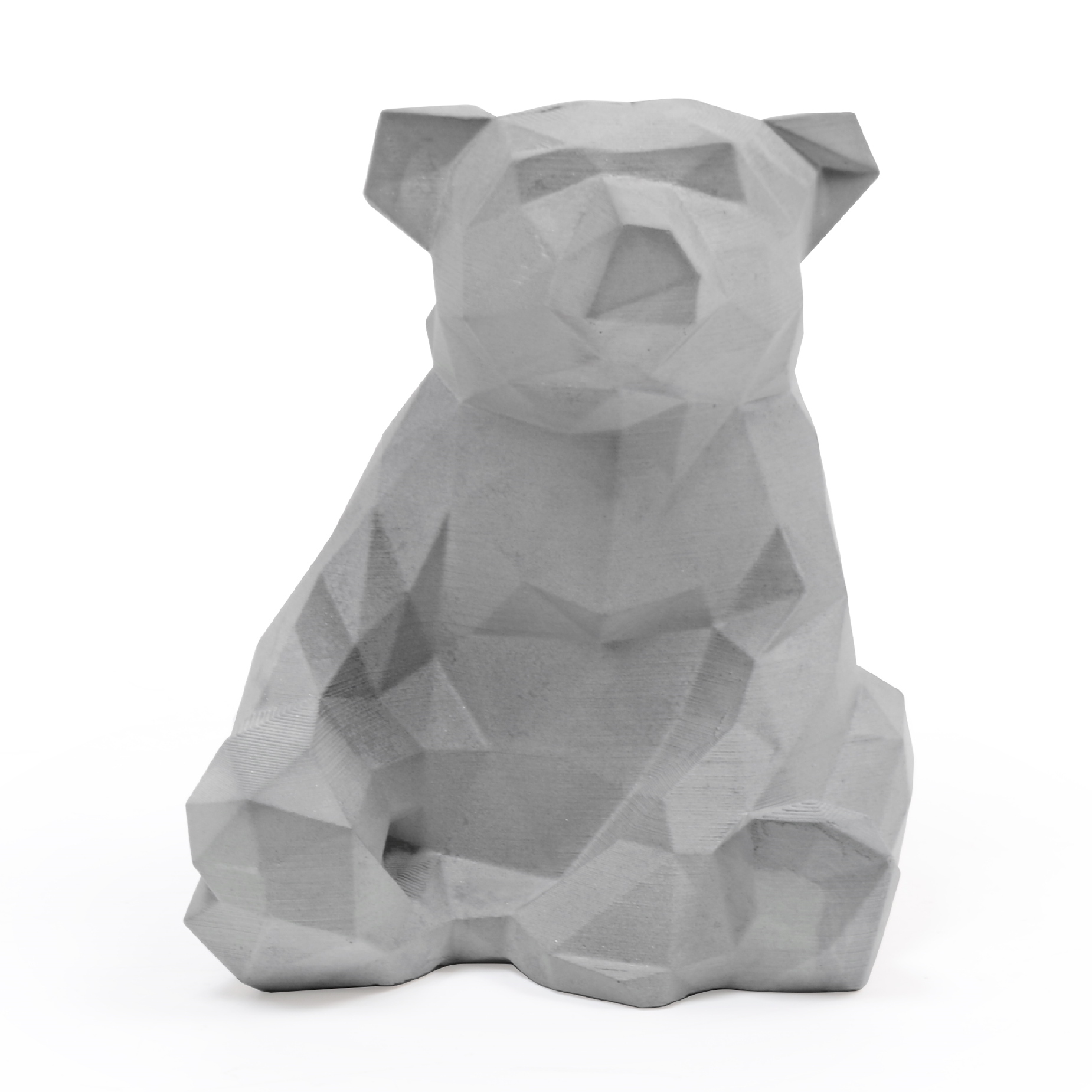 Escultura Geométrica Urso