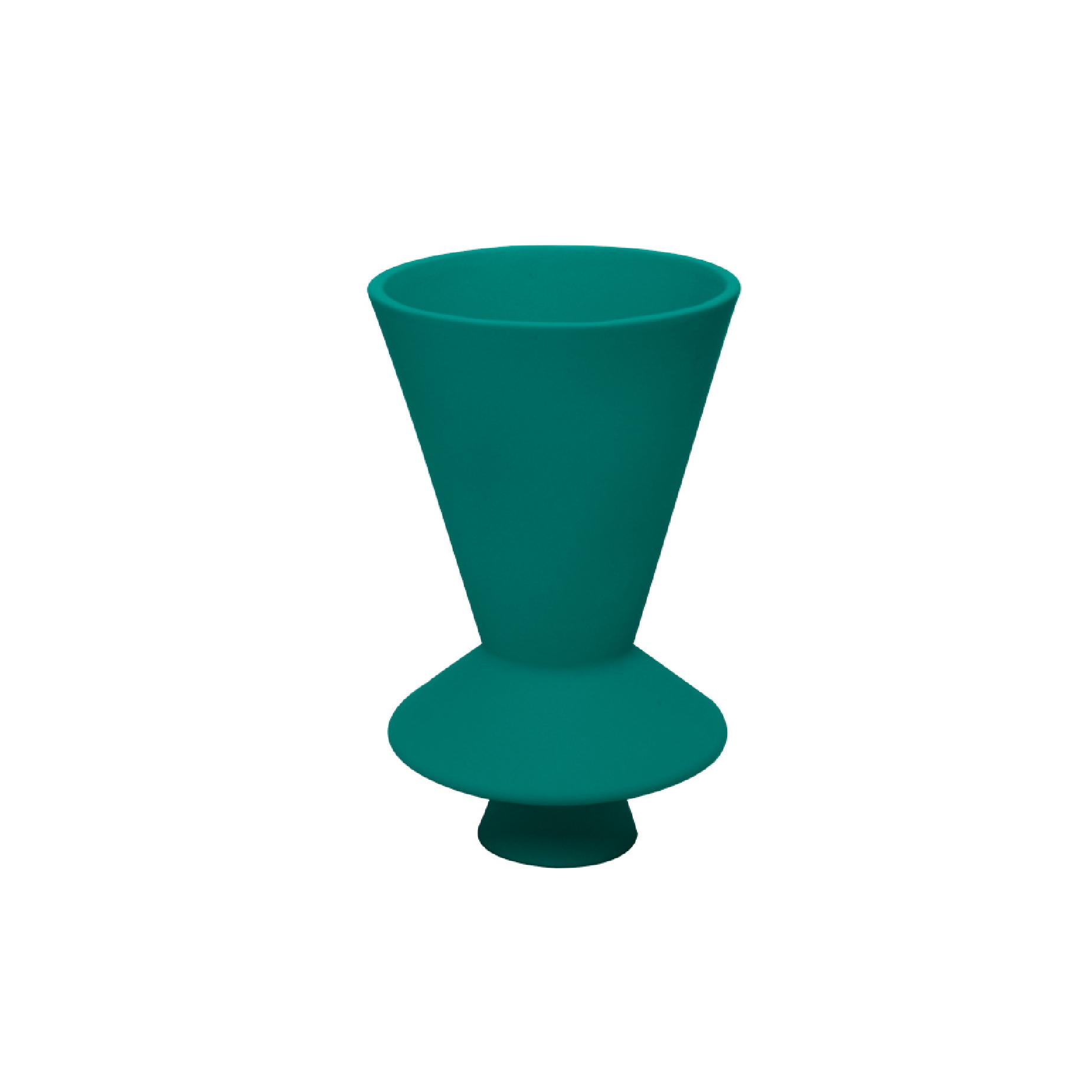 Vaso Lunático Pequeno Verde