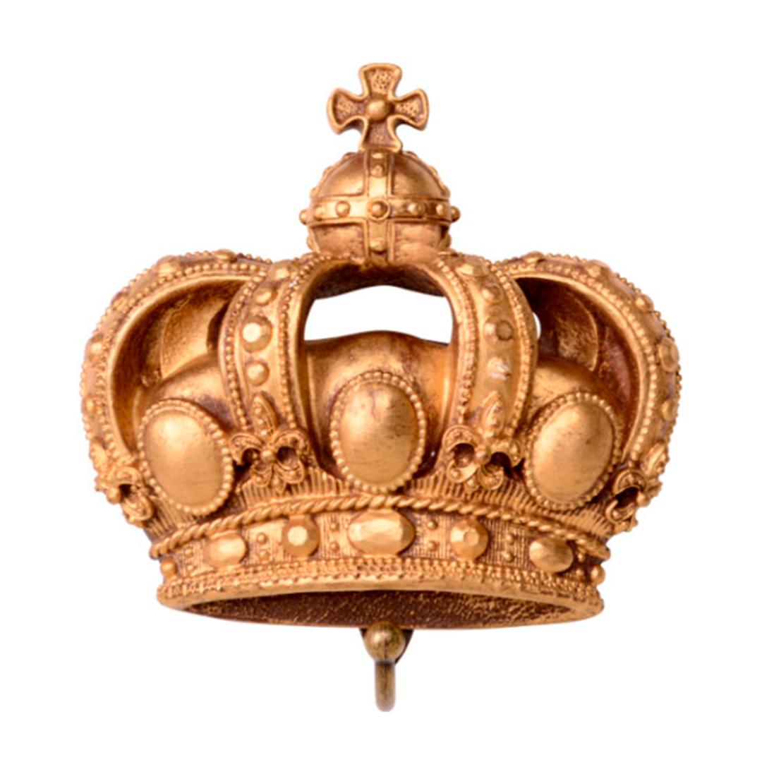 Coroa de Resina com Gancho