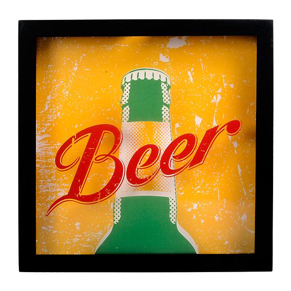 Caixa para tampa Beer
