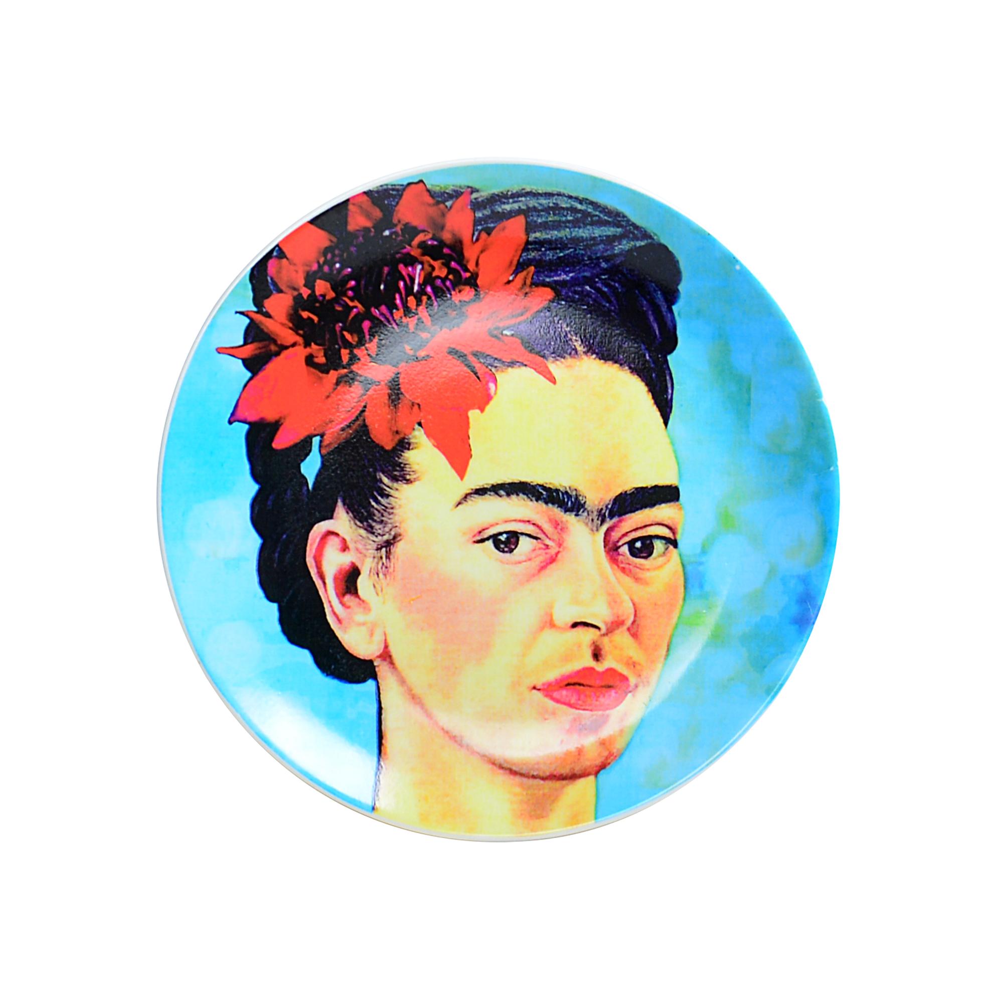 Prato de parede Frida Kahlo