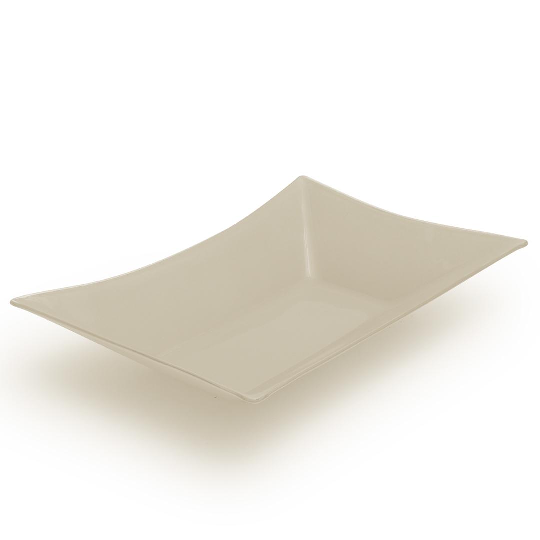 Travessa retangular de vidro Fendi