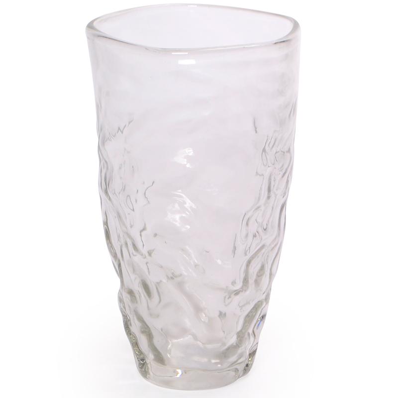 Vaso de vidro médio
