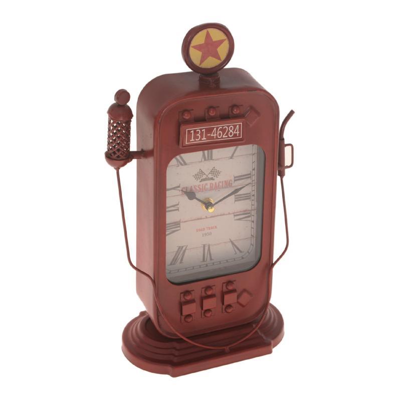 Miniatura de Bomba de gasolina com relógio