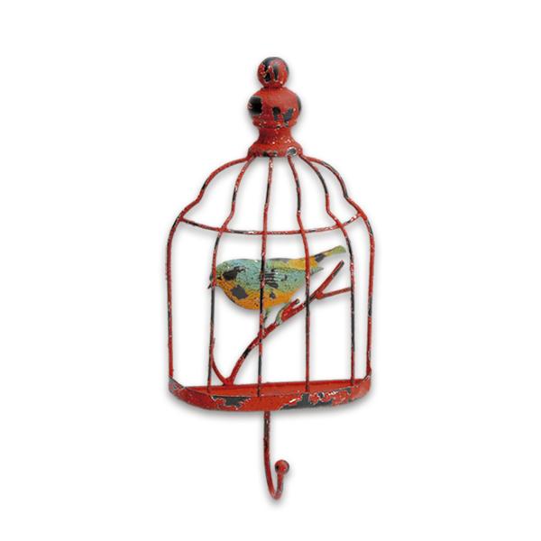 Gaiolas com pássaro para parede
