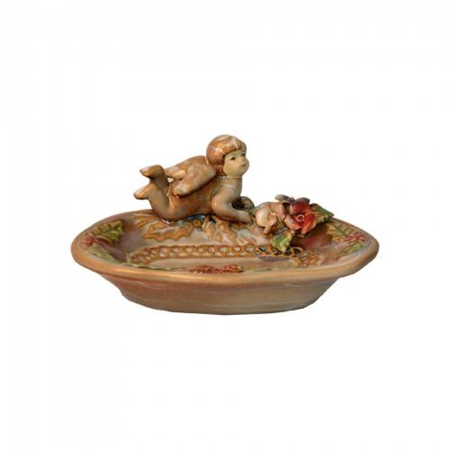 Saboneteira de cerâmica