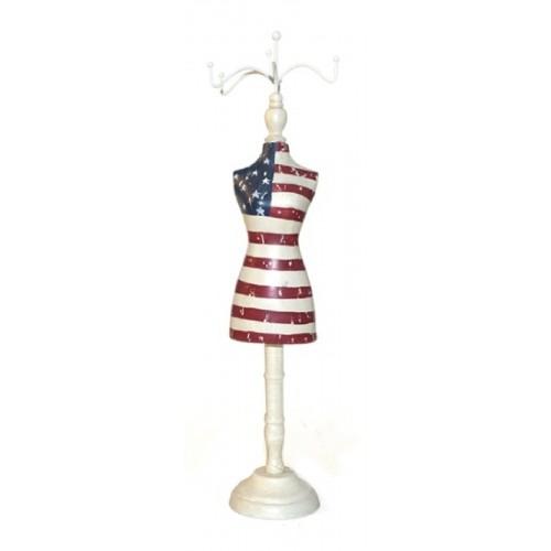 Manequim Bandeira EUA